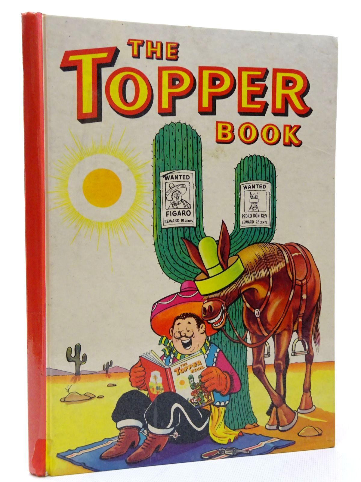 Photo of THE TOPPER BOOK 1961 published by D.C. Thomson & Co Ltd. (STOCK CODE: 1815608)  for sale by Stella & Rose's Books