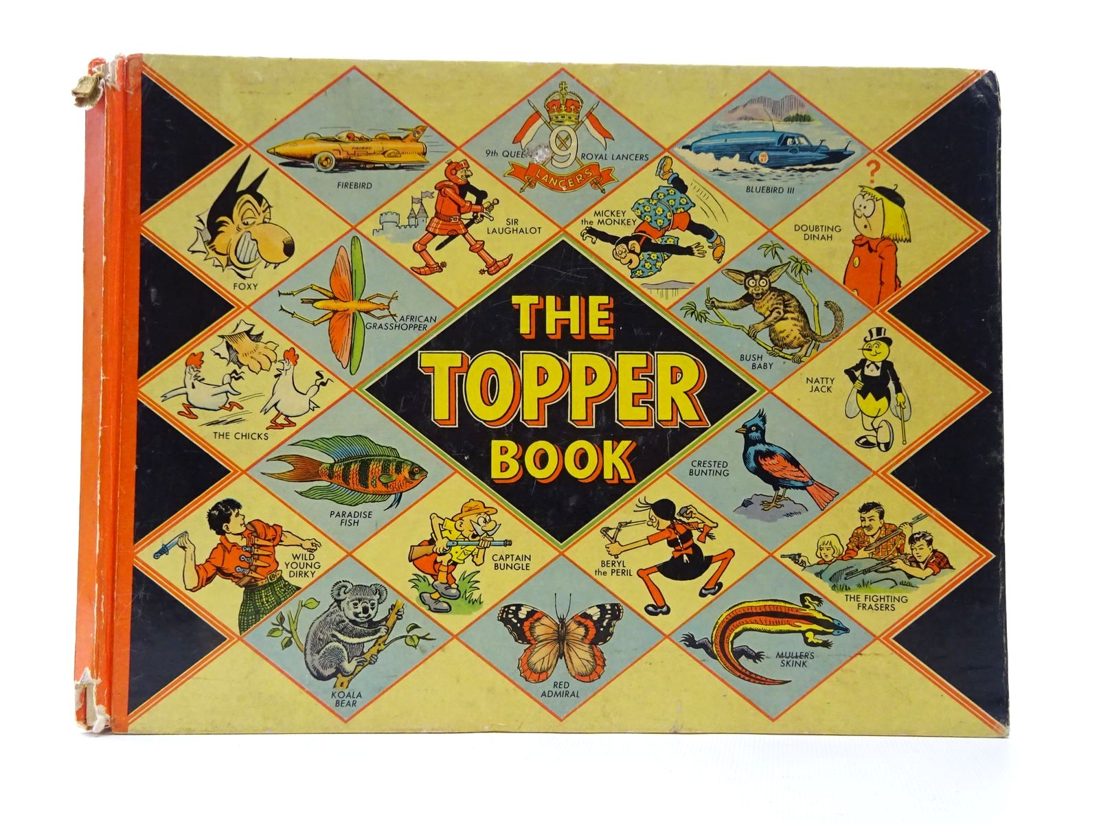 Photo of THE TOPPER BOOK 1958 published by D.C. Thomson & Co Ltd., John Leng (STOCK CODE: 1815609)  for sale by Stella & Rose's Books