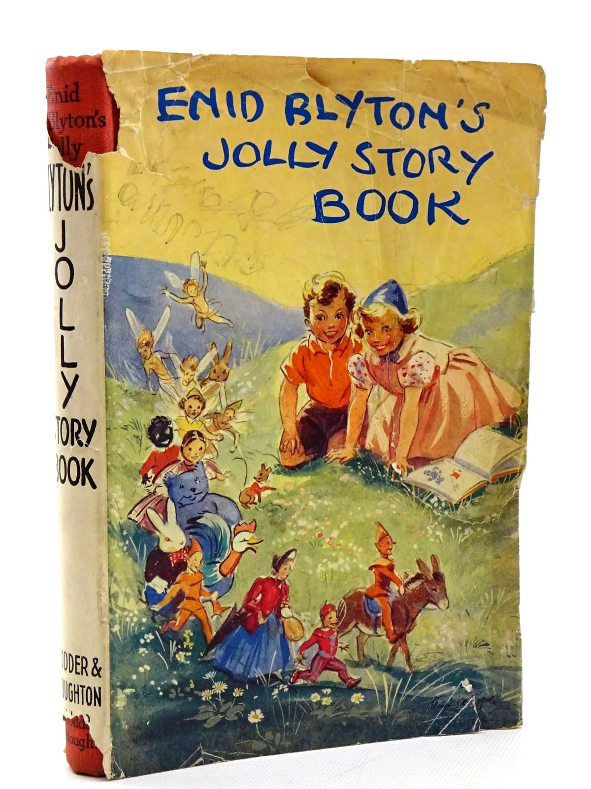 Photo of ENID BLYTON'S JOLLY STORY BOOK written by Blyton, Enid illustrated by Soper, Eileen published by Hodder & Stoughton (STOCK CODE: 1815637)  for sale by Stella & Rose's Books