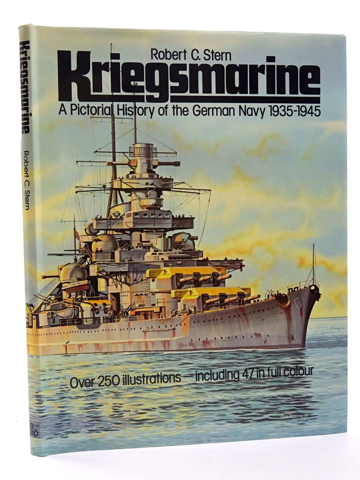 Photo of KRIEGSMARINE: A PICTORIAL HISTORY OF THE GERMAN NAVY 1935-1945 written by Stern, Robert C. illustrated by Greer, Don Stern, Robert C. published by Arms & Armour Press (STOCK CODE: 1815663)  for sale by Stella & Rose's Books
