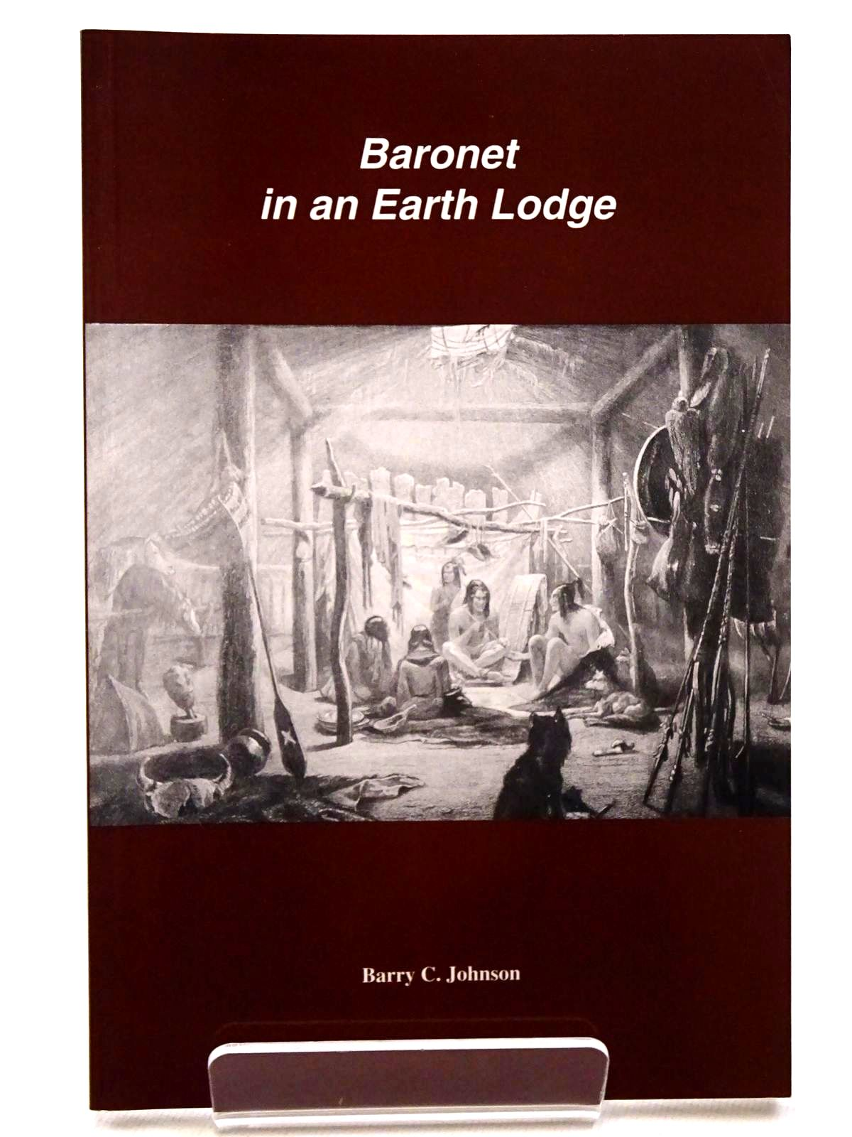 Photo of BARONET IN AN EARTH LODGE- Stock Number: 1815727