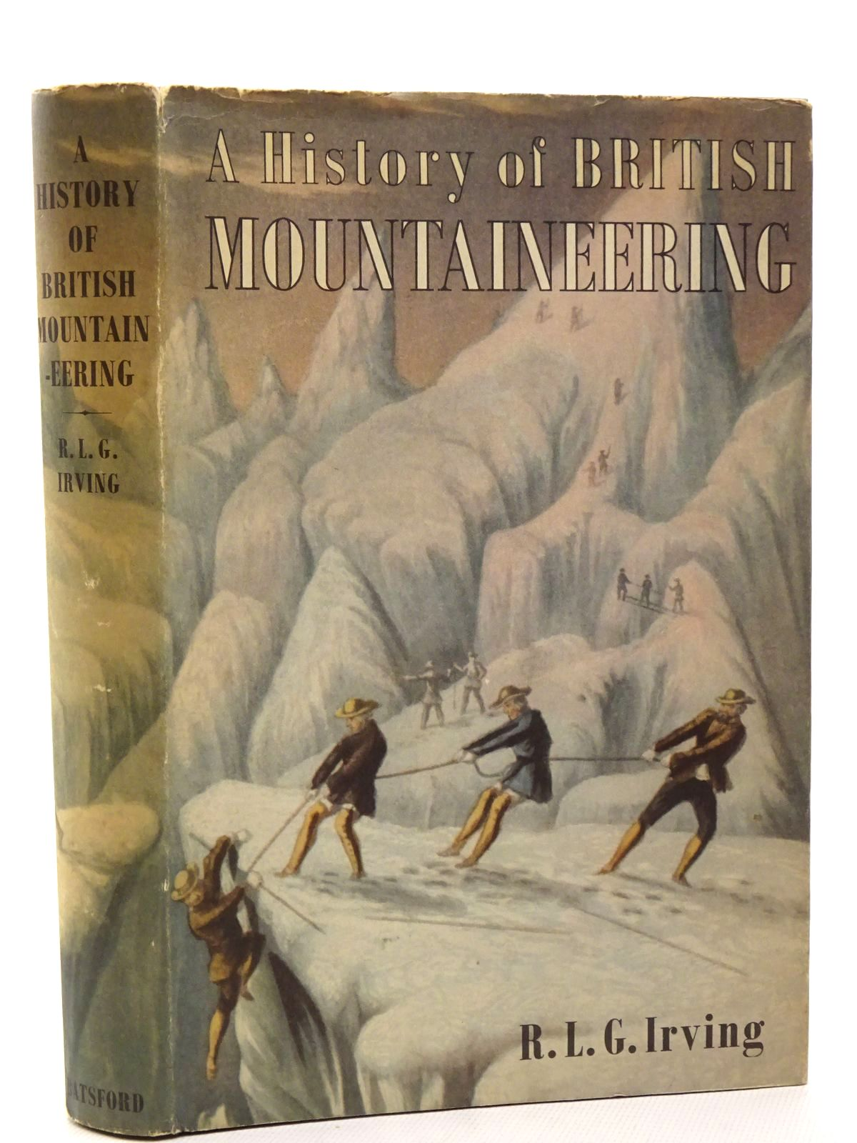 Photo of A HISTORY OF BRITISH MOUNTAINEERING- Stock Number: 1815744