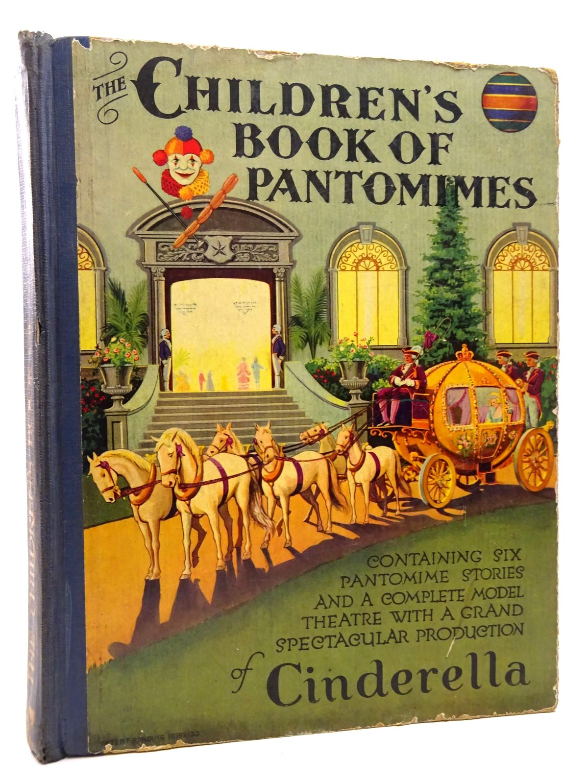 Photo of THE CHILDREN'S BOOK OF PANTOMIMES- Stock Number: 1815752