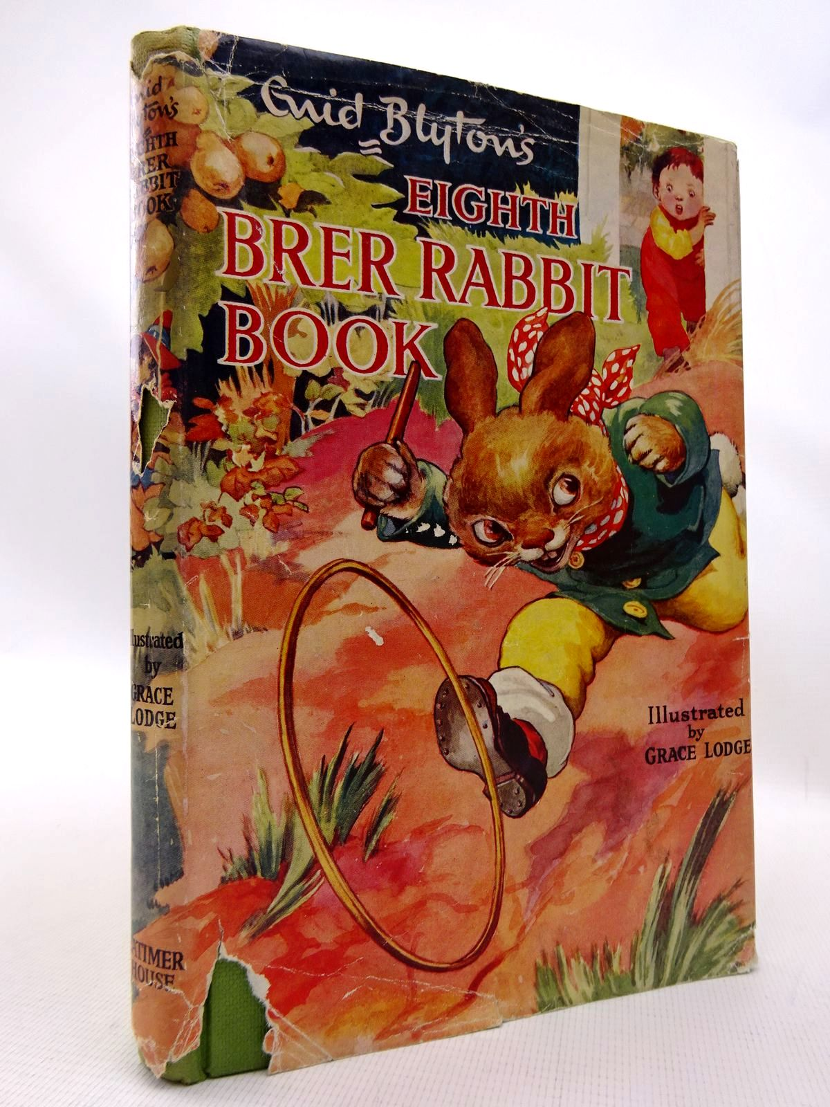 Photo of ENID BLYTON'S EIGHTH BRER RABBIT BOOK written by Blyton, Enid illustrated by Lodge, Grace published by Latimer House Limited (STOCK CODE: 1815820)  for sale by Stella & Rose's Books