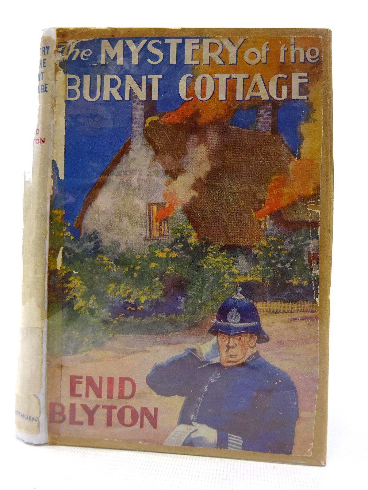 Photo of THE MYSTERY OF THE BURNT COTTAGE written by Blyton, Enid illustrated by Abbey, J. published by Methuen & Co. Ltd. (STOCK CODE: 1815821)  for sale by Stella & Rose's Books
