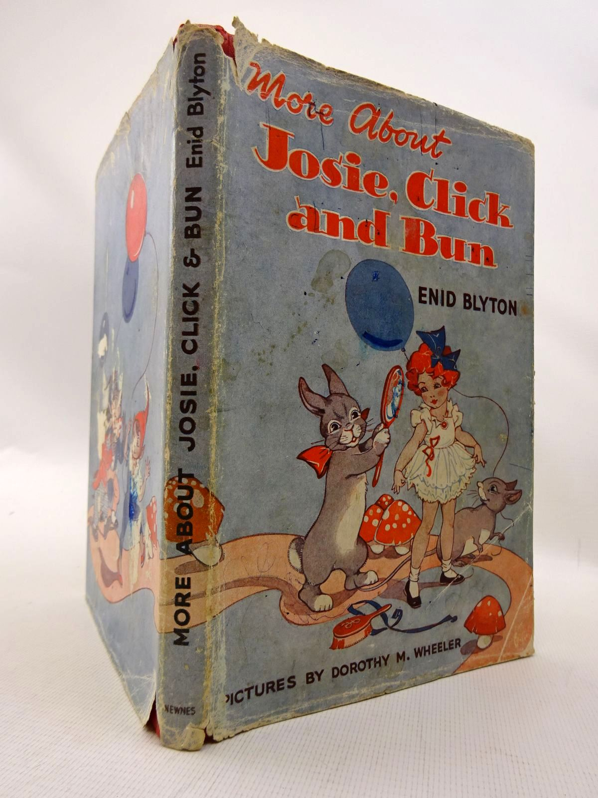 Photo of MORE ABOUT JOSIE, CLICK AND BUN written by Blyton, Enid illustrated by Wheeler, Dorothy M. published by George Newnes Ltd. (STOCK CODE: 1815829)  for sale by Stella & Rose's Books