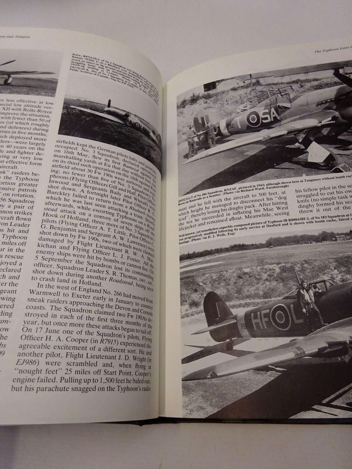 Photo of THE HAWKER TYPHOON AND TEMPEST written by Mason, Francis K. published by Aston Publications (STOCK CODE: 1815845)  for sale by Stella & Rose's Books