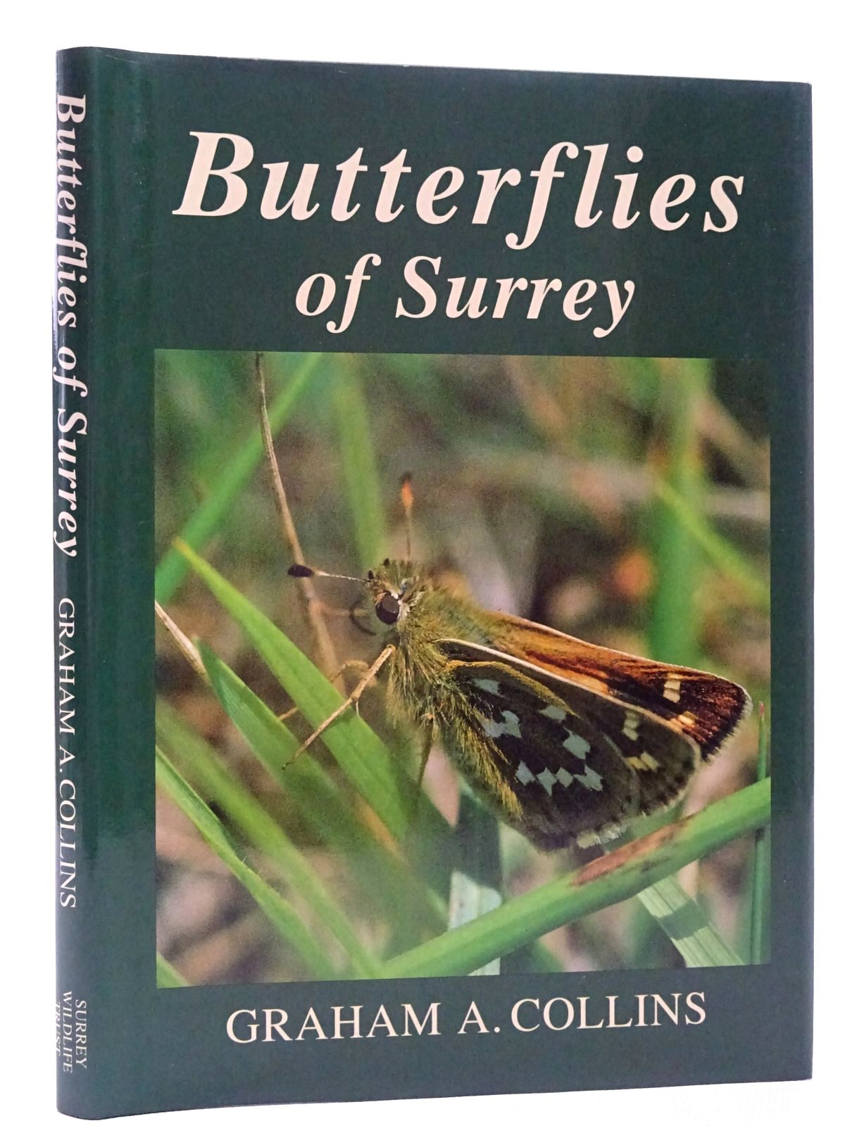 Photo of BUTTERFLIES OF SURREY written by Collins, Graham A. published by Surrey Wildlife Trust (STOCK CODE: 1815914)  for sale by Stella & Rose's Books