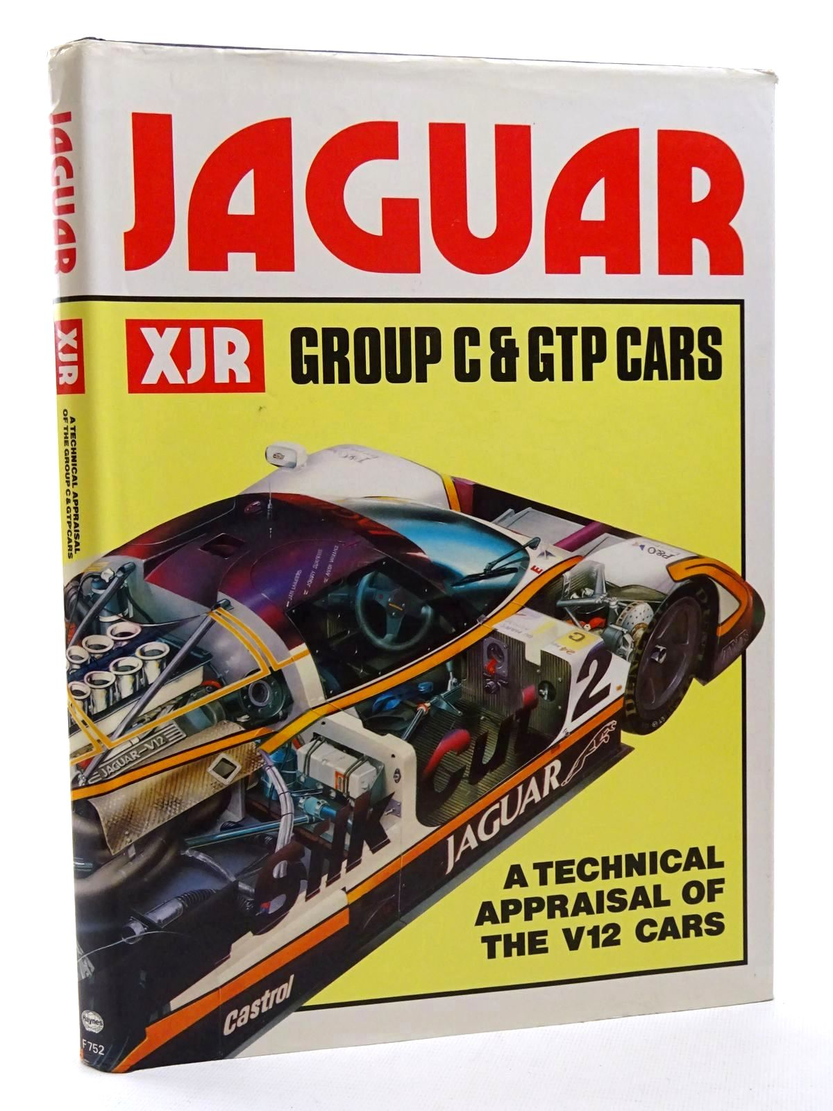 Photo of JAGUAR XJR GROUP C & GTP CARS written by Bamsey, Ian published by Foulis, Haynes Publishing Group (STOCK CODE: 1815930)  for sale by Stella & Rose's Books