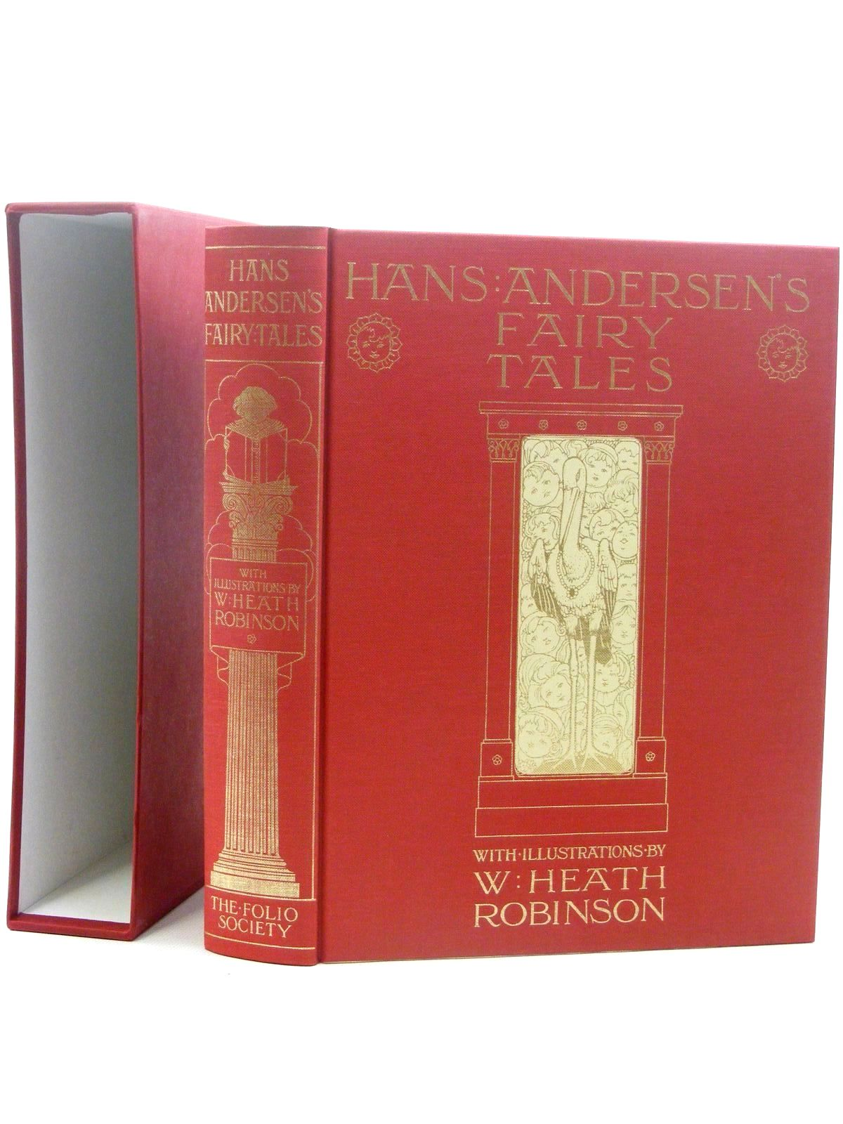 Photo of HANS ANDERSEN'S FAIRY TALES written by Andersen, Hans Christian illustrated by Robinson, W. Heath published by Folio Society (STOCK CODE: 1815949)  for sale by Stella & Rose's Books
