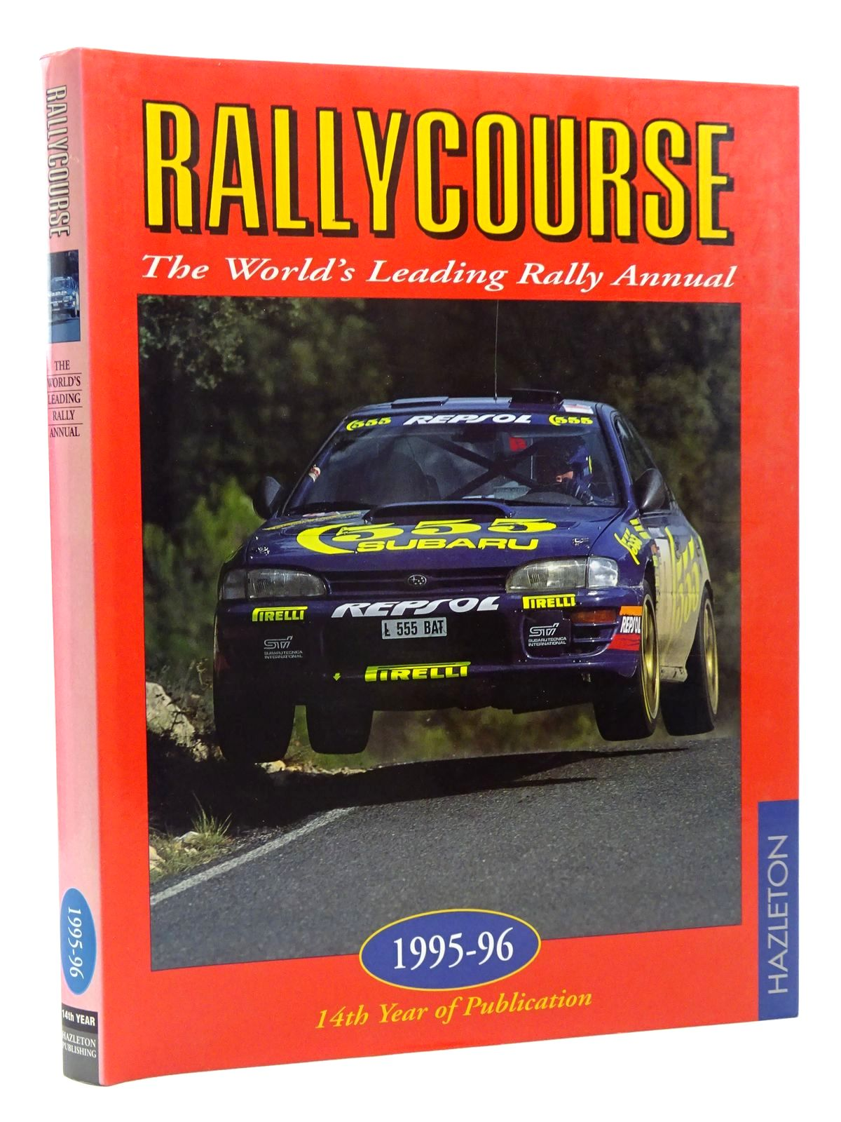 Photo of RALLYCOURSE 1995-96 written by Williams, David published by Hazleton Publishing (STOCK CODE: 1815980)  for sale by Stella & Rose's Books