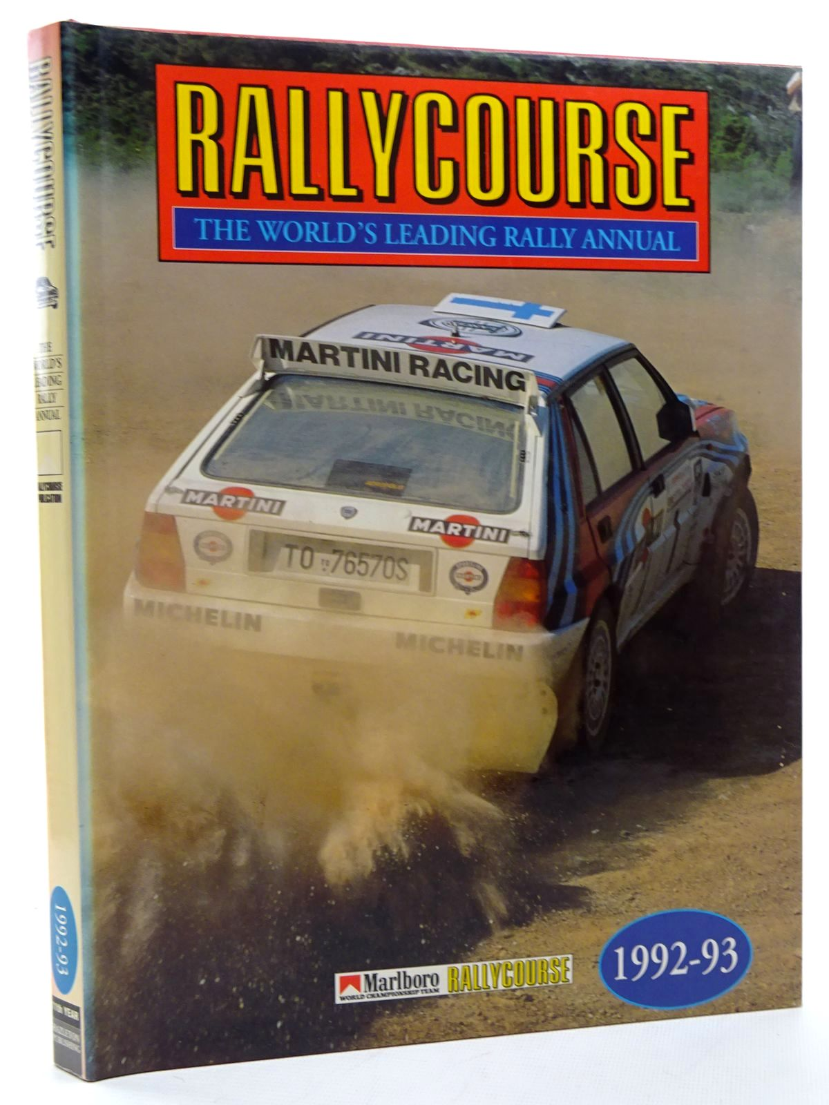 Photo of RALLYCOURSE 1992-93 written by Williams, David published by Hazleton Publishing (STOCK CODE: 1815982)  for sale by Stella & Rose's Books