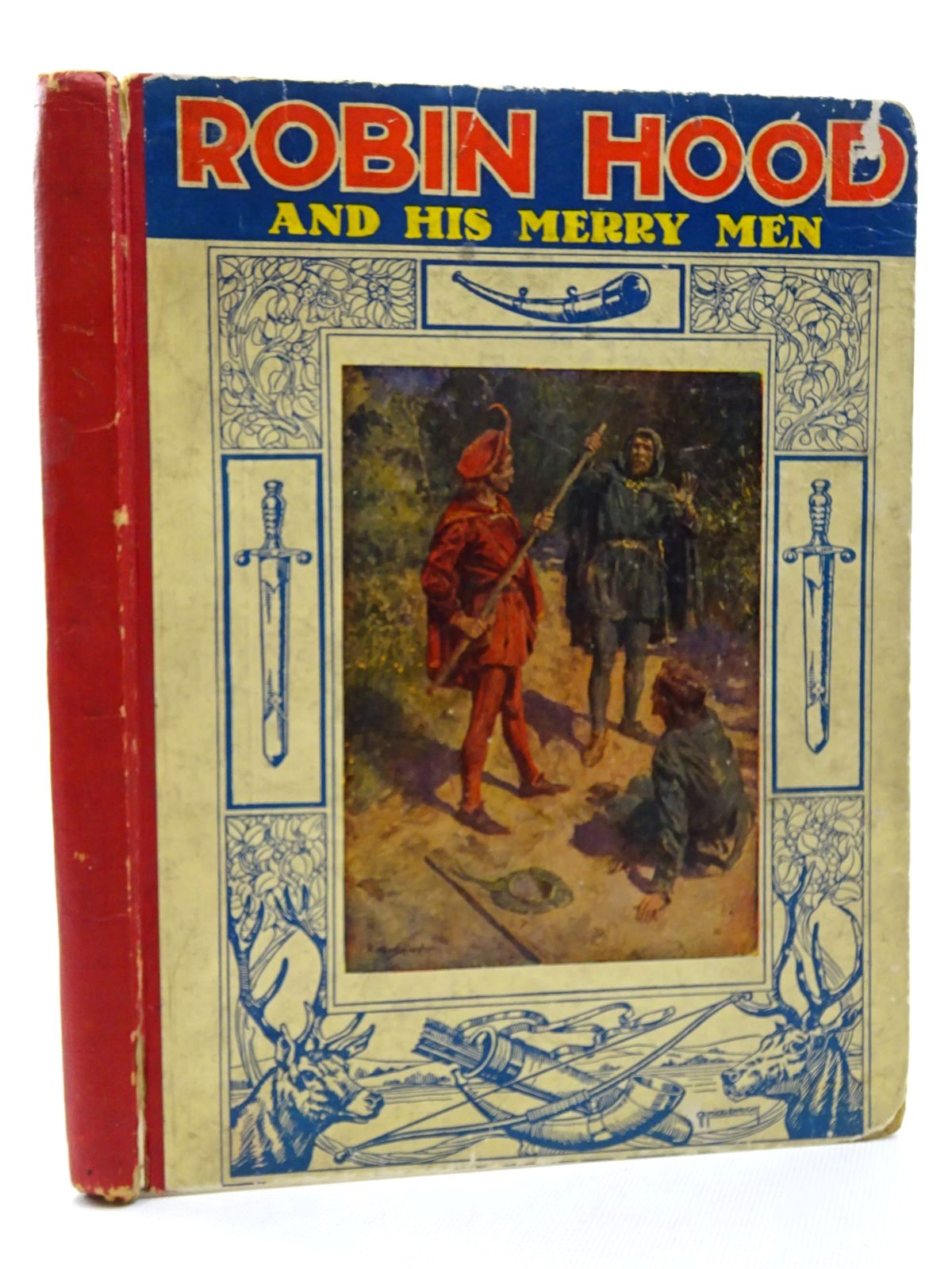 Photo of ROBIN HOOD AND HIS MERRY MEN written by Sterling, Sara Hawks illustrated by Wheelwright, Rowland published by J. Coker & Co. Ltd. (STOCK CODE: 1815999)  for sale by Stella & Rose's Books