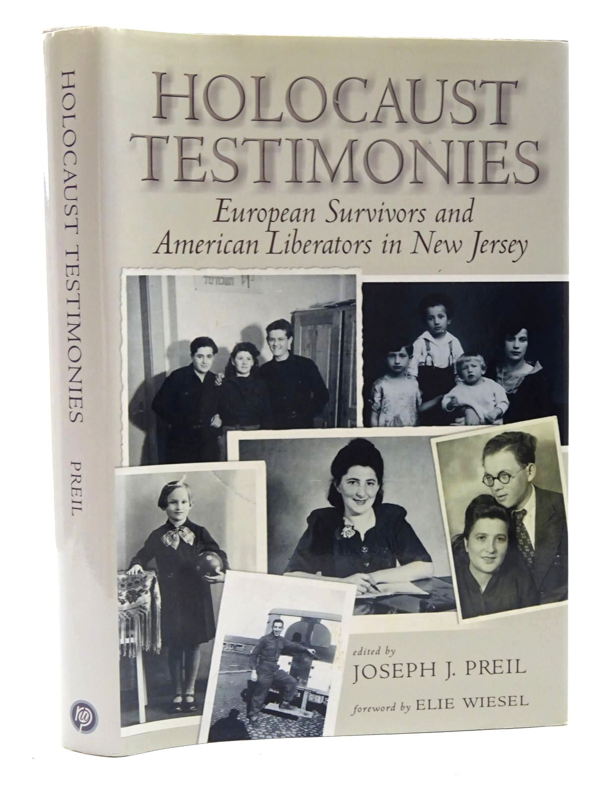 Photo of HOLOCAUST TESTIMONIES: EUROPEAN SURVIVORS AND AMERICAN LIBERATORS IN NEW JERSEY- Stock Number: 1816045