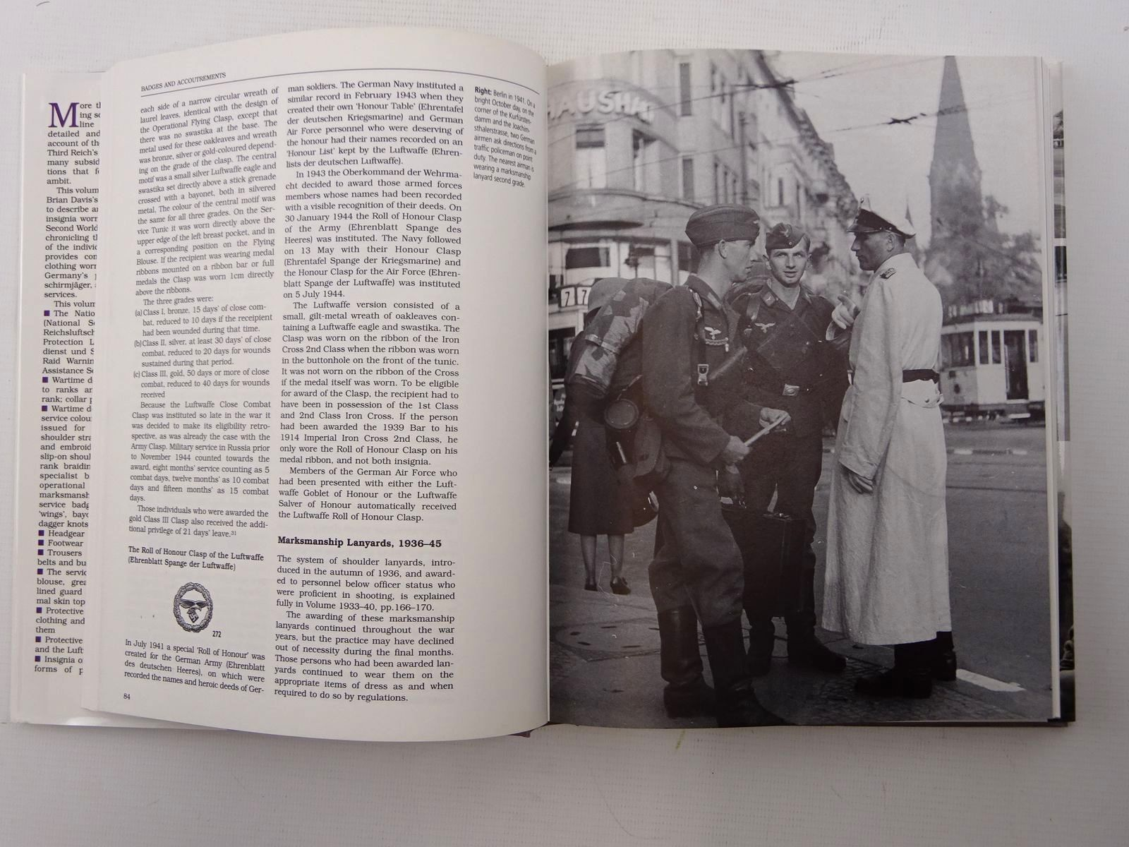 Photo of UNIFORMS AND INSIGNIA OF THE LUFTWAFFE VOLUME 2: 1940-1945 written by Davis, Brian L. published by Arms & Armour Press (STOCK CODE: 1816070)  for sale by Stella & Rose's Books