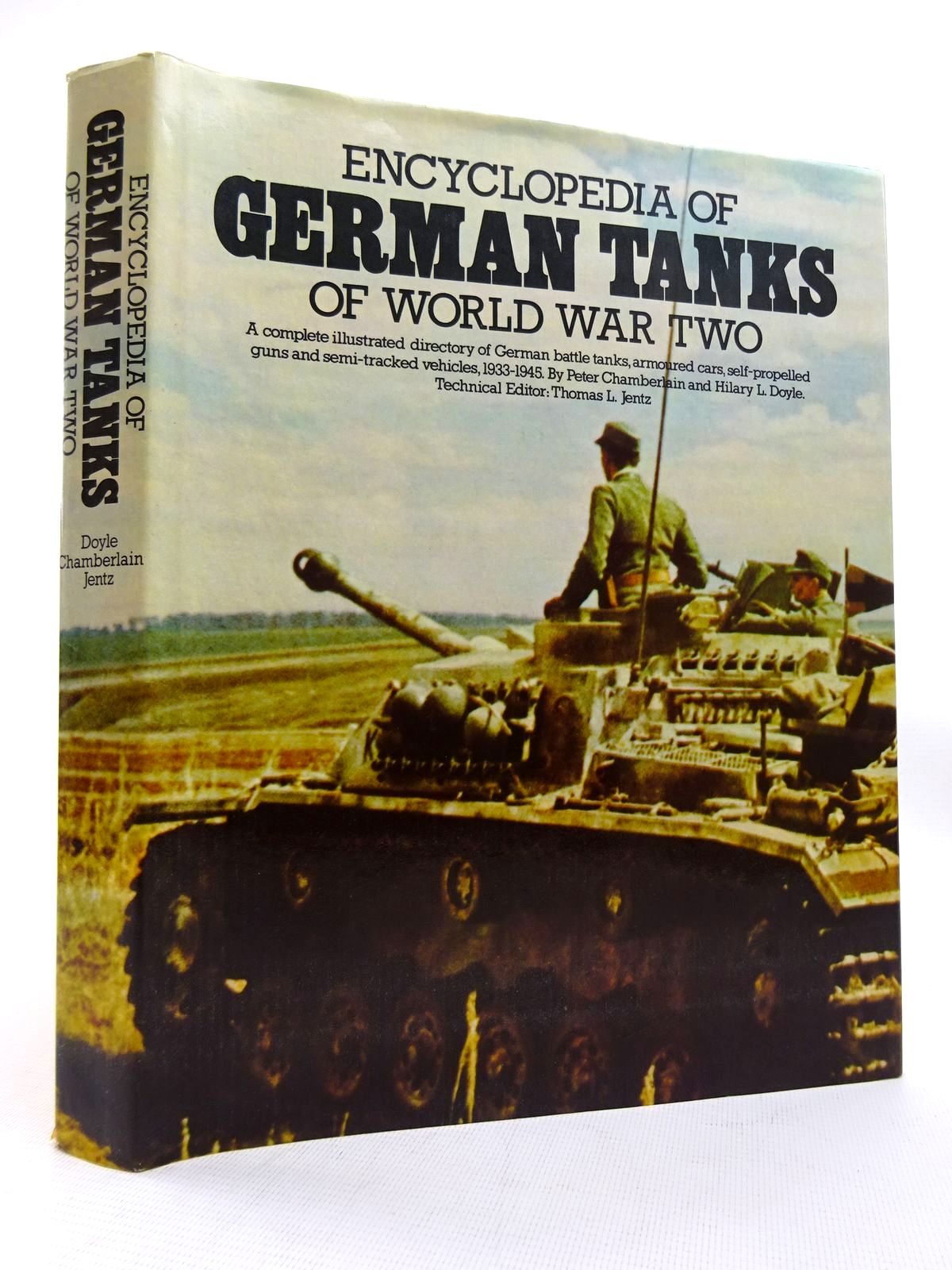 Photo of ENCYCLOPEDIA OF GERMAN TANKS OF WORLD WAR TWO written by Chamberlain, Peter<br />Doyle, Hilary<br />Jentz, Thomas published by Arms &amp; Armour Press (STOCK CODE: 1816096)  for sale by Stella & Rose's Books