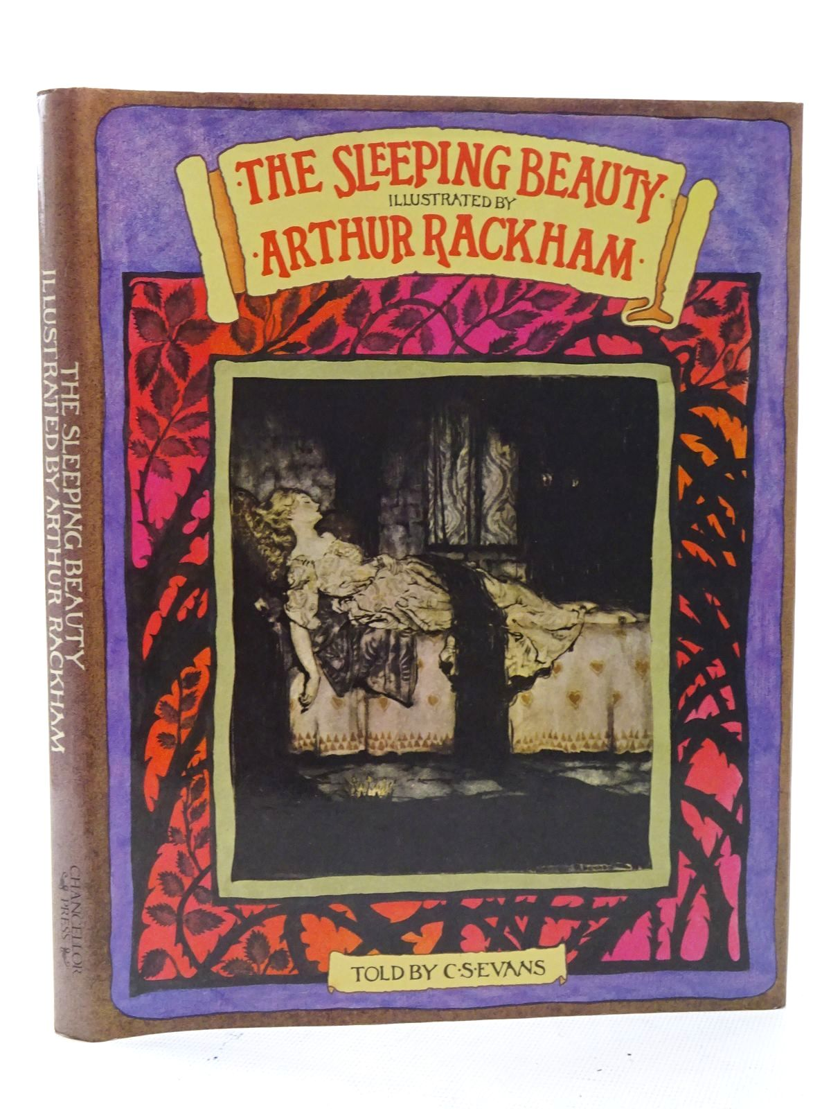 Photo of THE SLEEPING BEAUTY written by Evans, C.S. illustrated by Rackham, Arthur published by Chancellor Press (STOCK CODE: 1816121)  for sale by Stella & Rose's Books