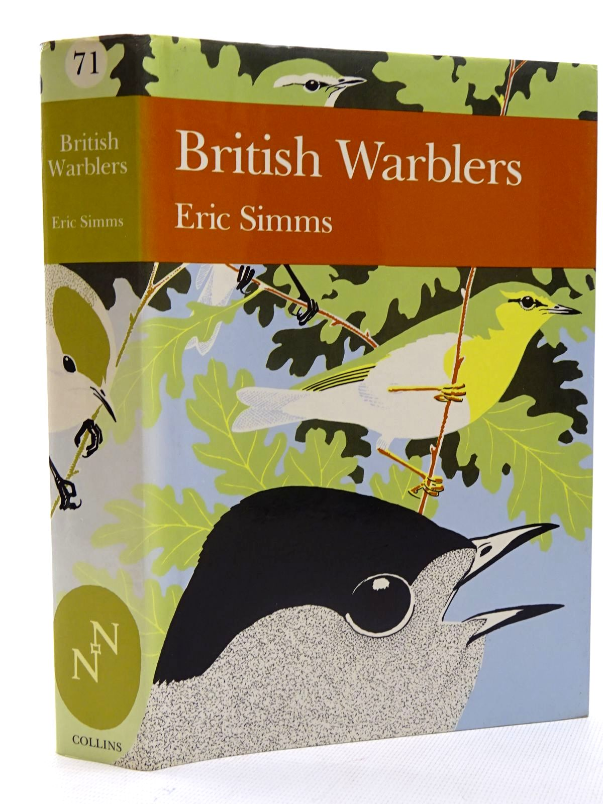 Photo of BRITISH WARBLERS (NN 71) written by Simms, Eric published by Collins (STOCK CODE: 1816243)  for sale by Stella & Rose's Books
