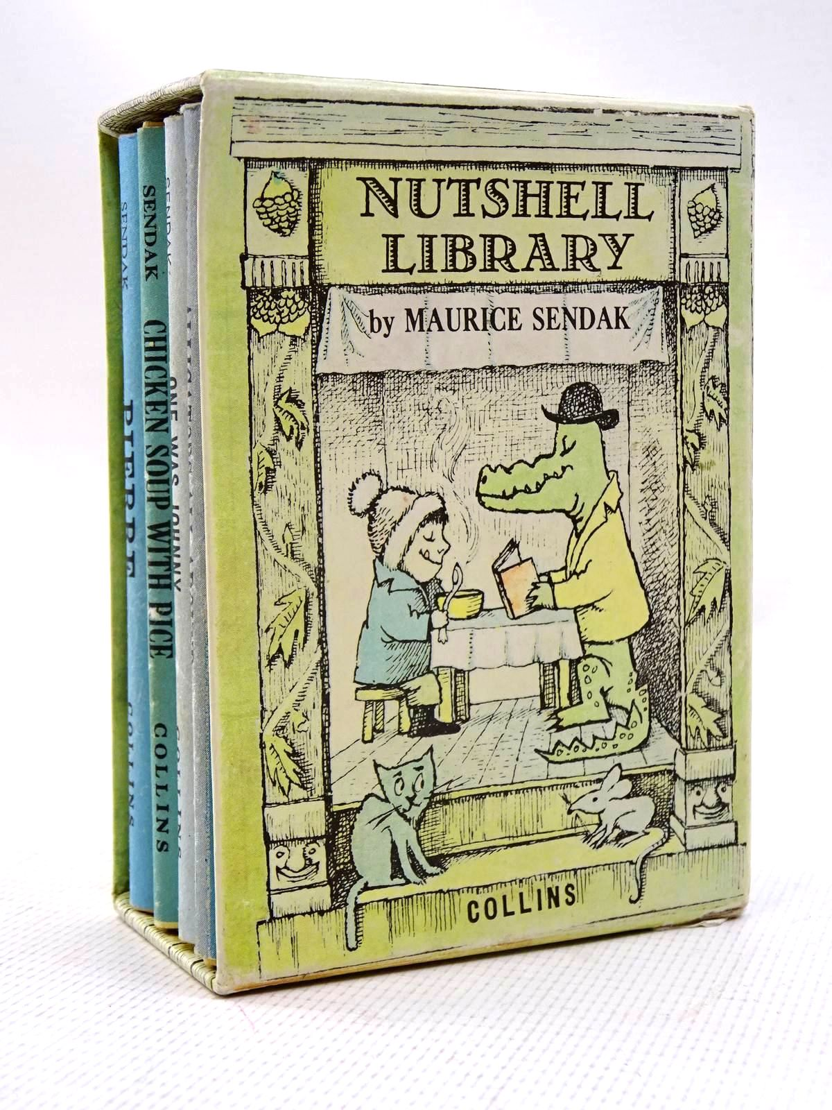 Photo of NUTSHELL LIBRARY written by Sendak, Maurice illustrated by Sendak, Maurice published by Collins (STOCK CODE: 1816295)  for sale by Stella & Rose's Books