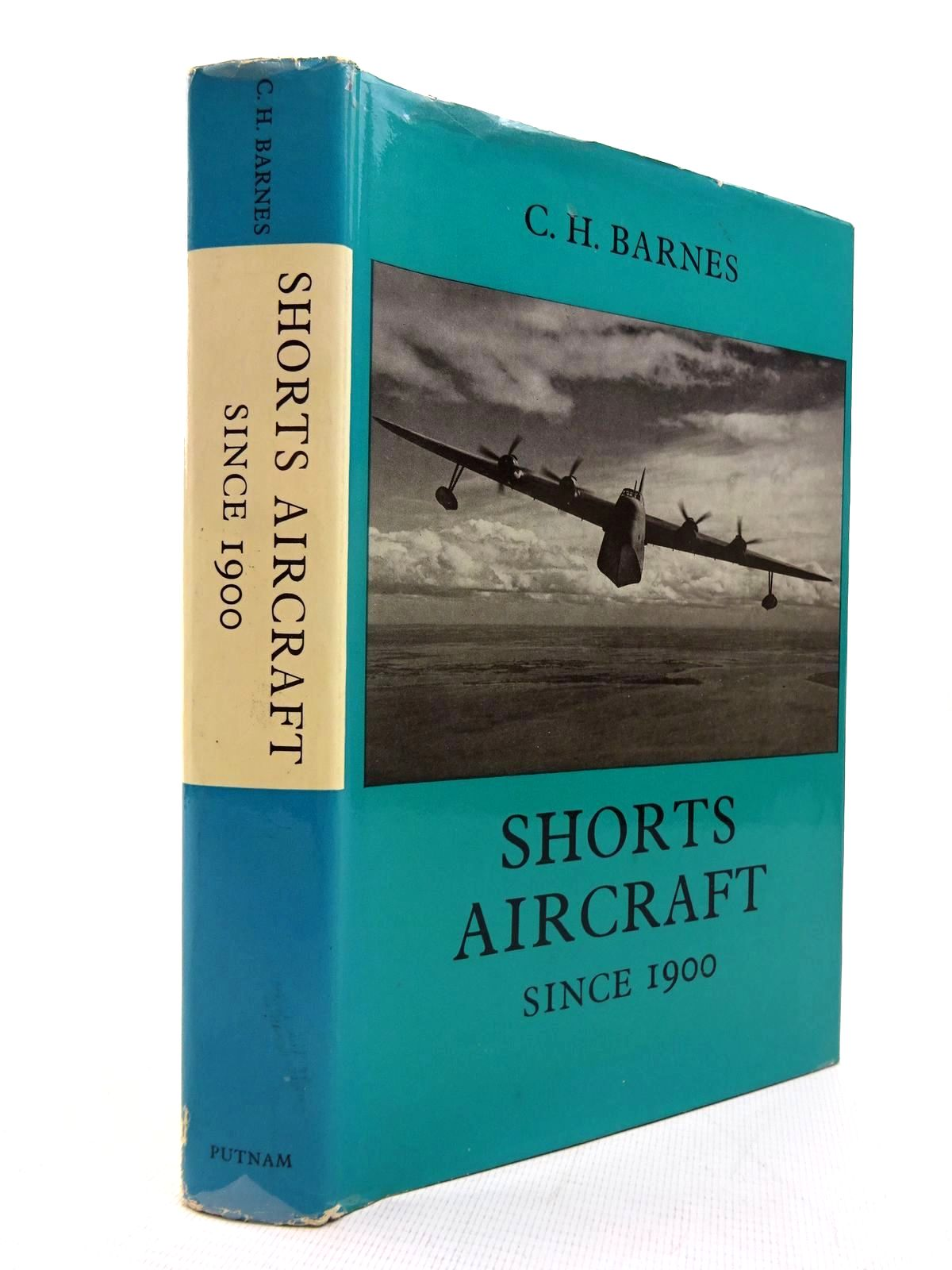 Photo of SHORTS AIRCRAFT SINCE 19OO written by Barnes, C.H. published by Putnam (STOCK CODE: 1816307)  for sale by Stella & Rose's Books