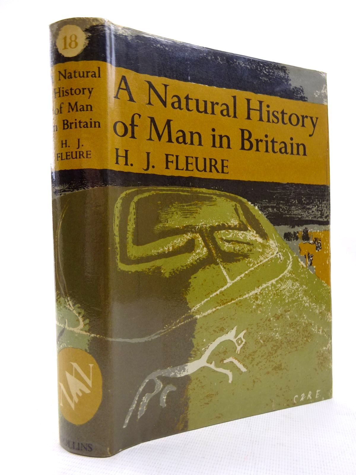 Photo of A NATURAL HISTORY OF MAN IN BRITAIN (NN 18) written by Fleure, H.J.
