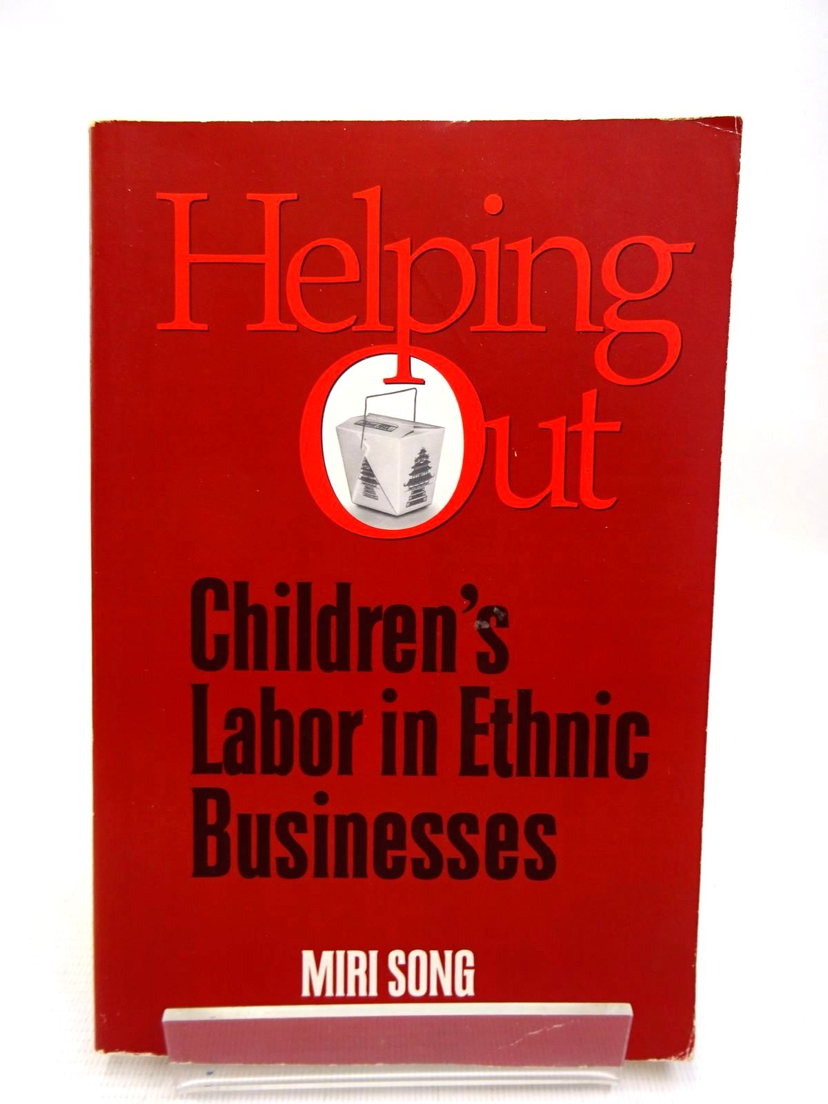 Photo of HELPING OUT: CHILDREN'S LABOR IN ETHNIC BUSINESSES written by Song, Miri published by Temple University Press (STOCK CODE: 1816343)  for sale by Stella & Rose's Books