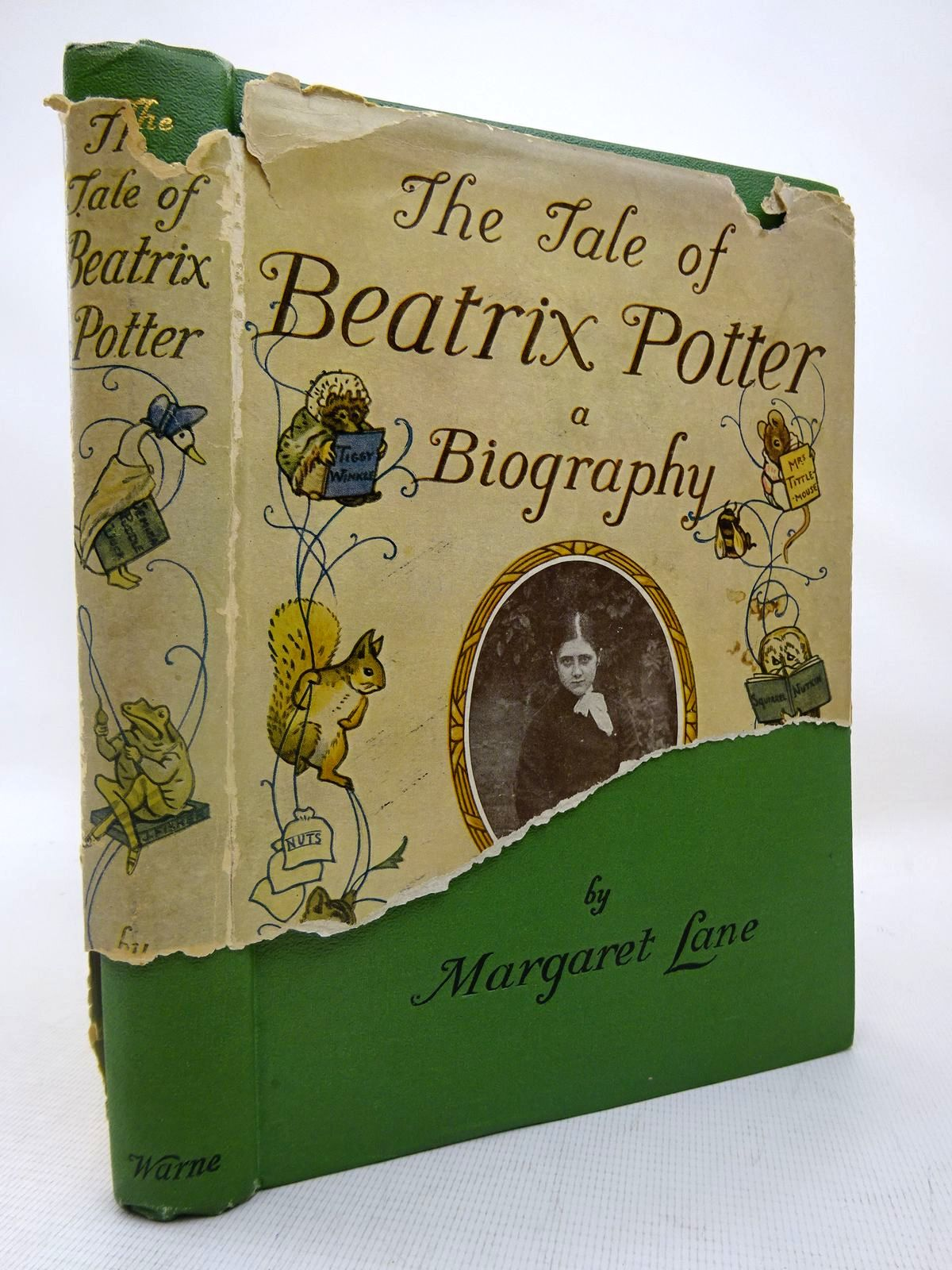 Photo of THE TALE OF BEATRIX POTTER A BIOGRAPHY written by Lane, Margaret illustrated by Potter, Beatrix published by Frederick Warne & Co Ltd. (STOCK CODE: 1816417)  for sale by Stella & Rose's Books