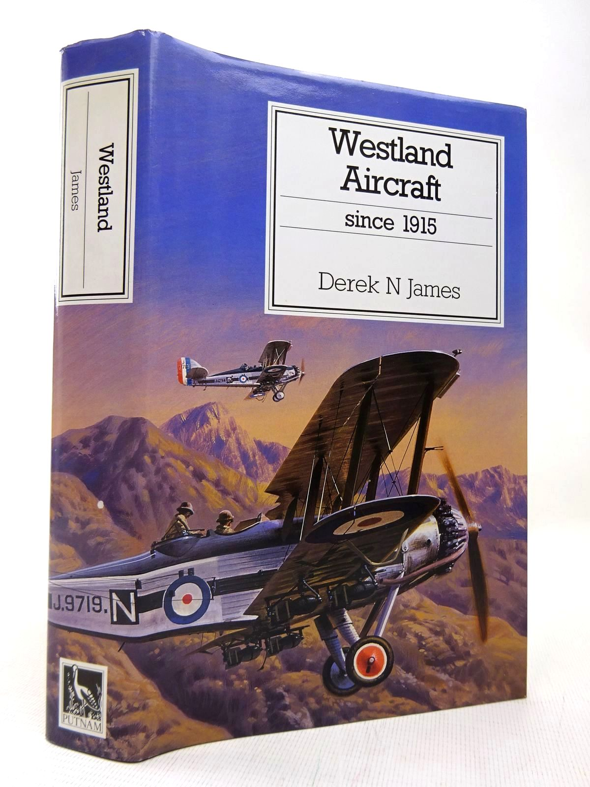 Photo of WESTLAND AIRCRAFT SINCE 1915 written by James, Derek N. published by Putnam (STOCK CODE: 1816423)  for sale by Stella & Rose's Books