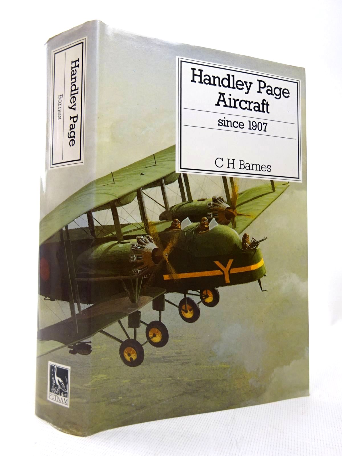 Photo of HANDLEY PAGE AIRCRAFT SINCE 1907 written by Barnes, C.H.