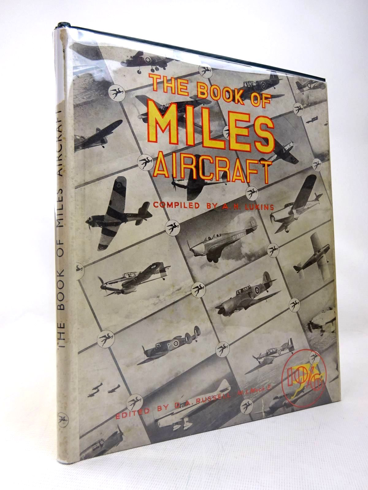 Photo of THE BOOK OF MILES AIRCRAFT written by Lukins, A.H. published by The Harborough Publishing Co. Ltd. (STOCK CODE: 1816441)  for sale by Stella & Rose's Books
