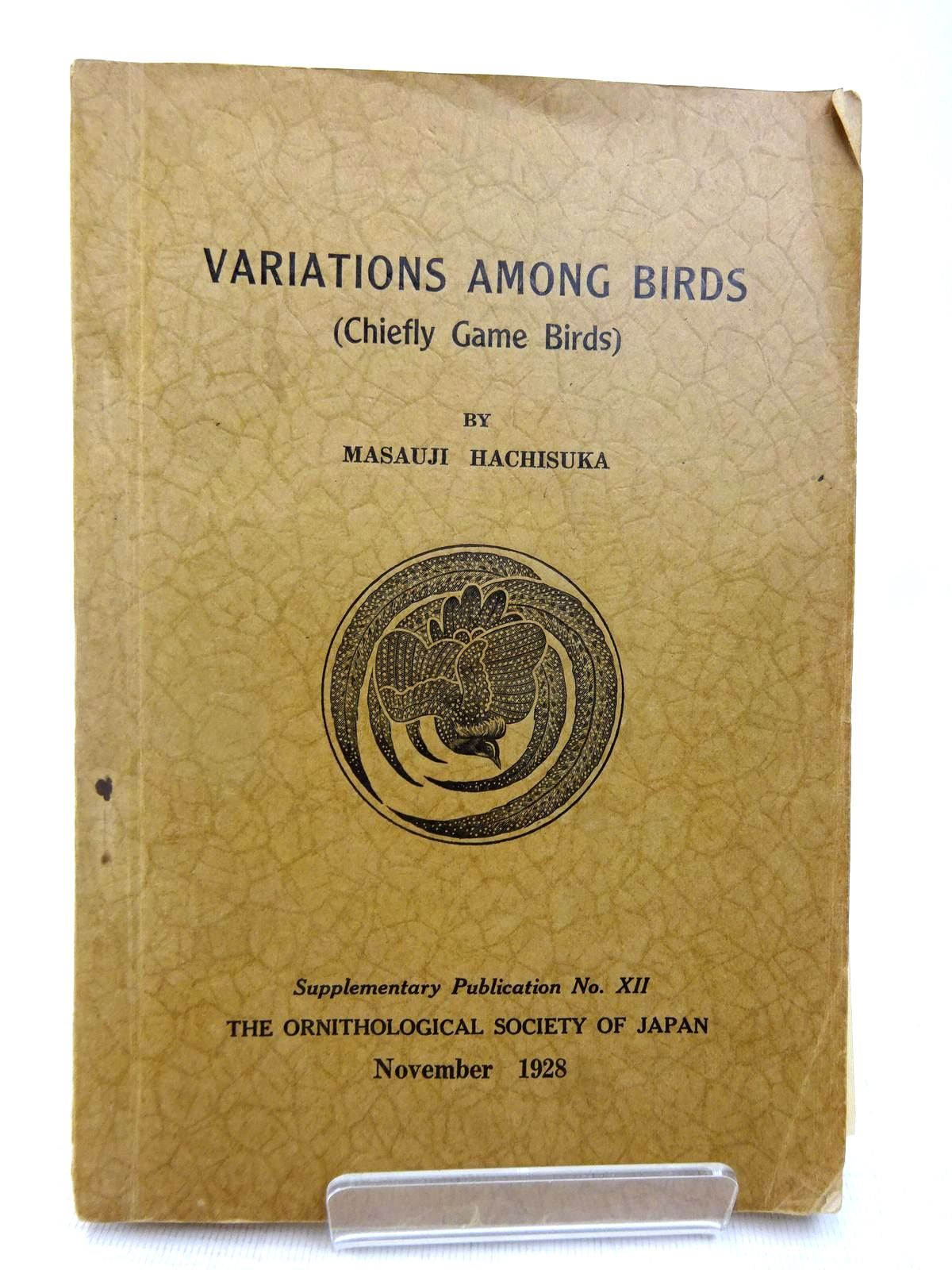 Photo of VARIATIONS AMONG BIRDS (CHIEFLY GAME BIRDS)- Stock Number: 1816485