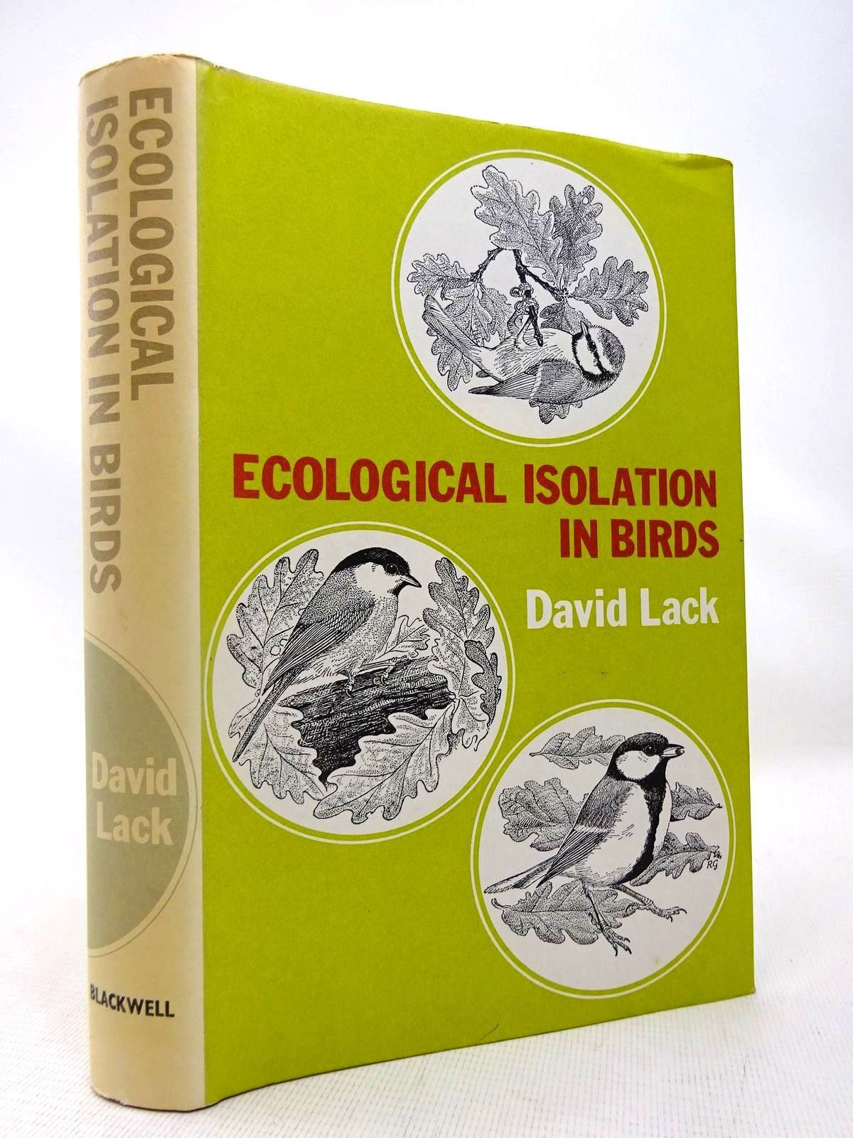 Photo of ECOLOGICAL ISOLATION IN BIRDS written by Lack, David illustrated by Gillmor, Robert published by Blackwell Scientific Publications (STOCK CODE: 1816492)  for sale by Stella & Rose's Books