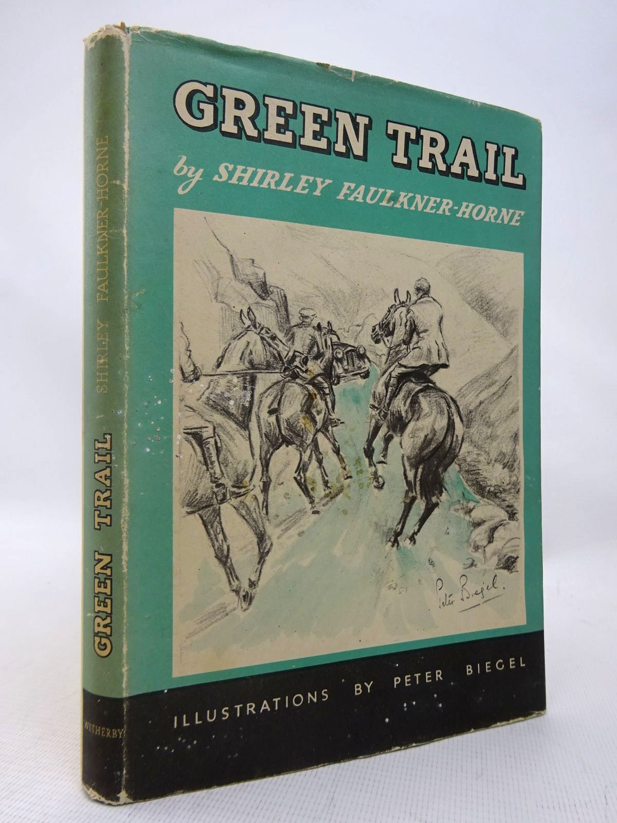Photo of GREEN TRAIL written by Faulkner-Horne, Shirley illustrated by Biegel, Peter published by H.F. & G. Witherby Ltd. (STOCK CODE: 1816525)  for sale by Stella & Rose's Books