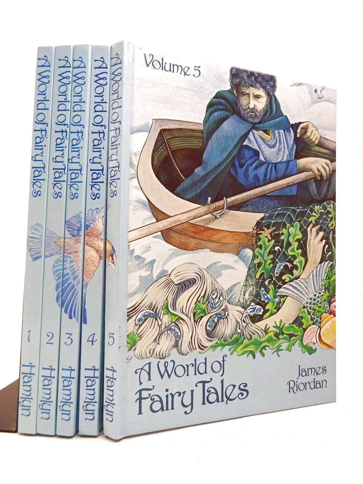 Photo of A WORLD OF FAIRY TALES (5 VOLS) written by Riordan, James published by Hamlyn (STOCK CODE: 1816530)  for sale by Stella & Rose's Books