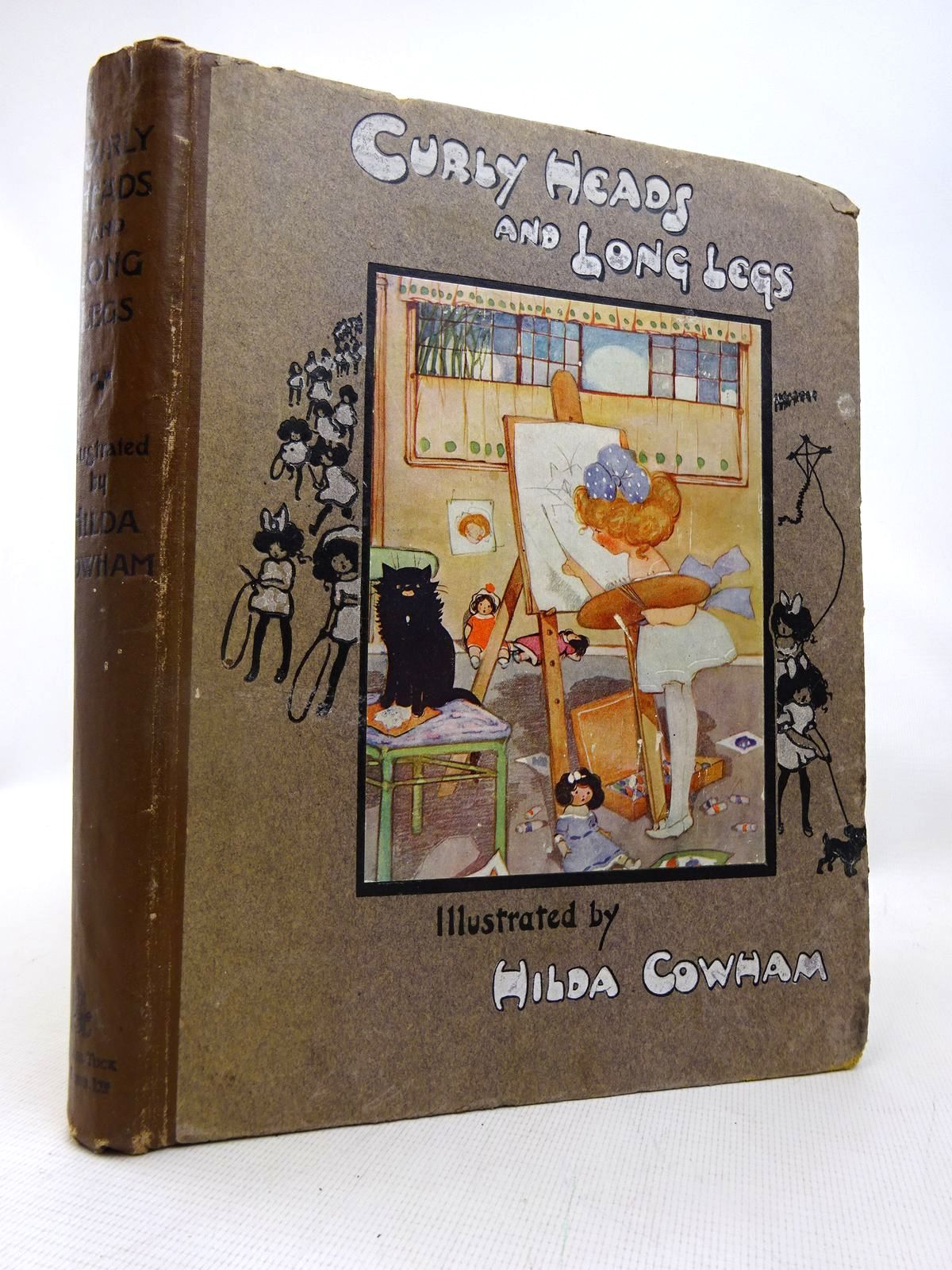 Photo of CURLY HEADS AND LONG LEGS written by Vredenburg, Edric<br />et al, illustrated by Cowham, Hilda published by Raphael Tuck &amp; Sons Ltd. (STOCK CODE: 1816551)  for sale by Stella & Rose's Books