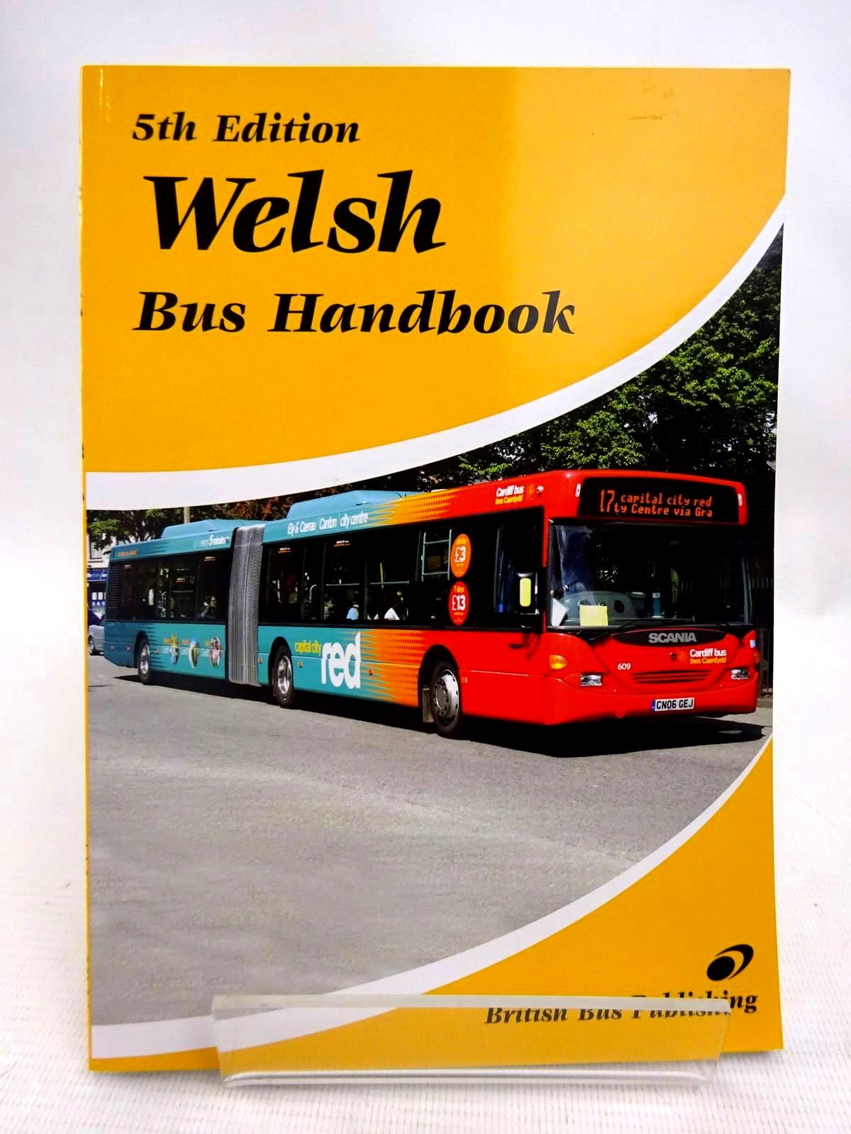 Photo of THE WELSH BUS HANDBOOK- Stock Number: 1816639