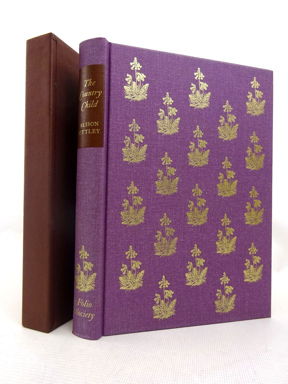 Photo of THE COUNTRY CHILD written by Uttley, Alison illustrated by Tunnicliffe, C.F. published by Folio Society (STOCK CODE: 1816685)  for sale by Stella & Rose's Books