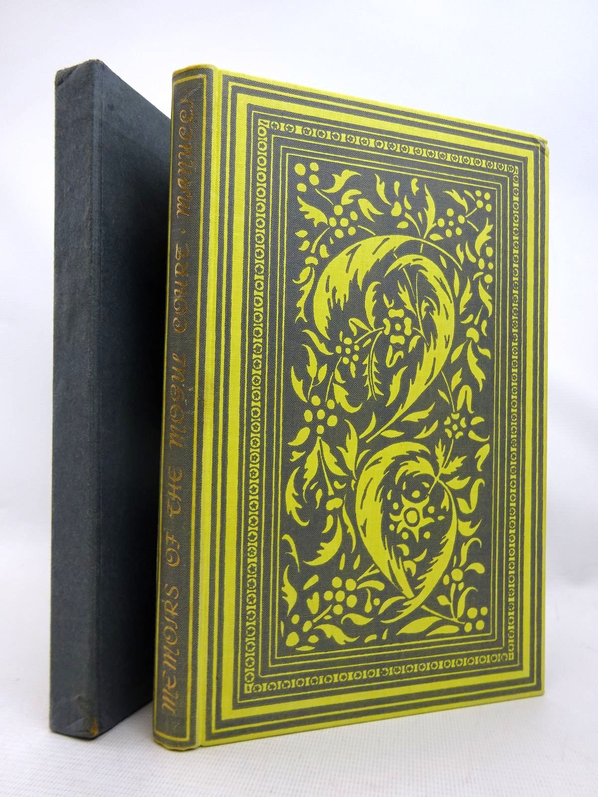 Photo of MEMOIRS OF THE MOGUL COURT written by Manucci, Niccolao published by Folio Society (STOCK CODE: 1816686)  for sale by Stella & Rose's Books