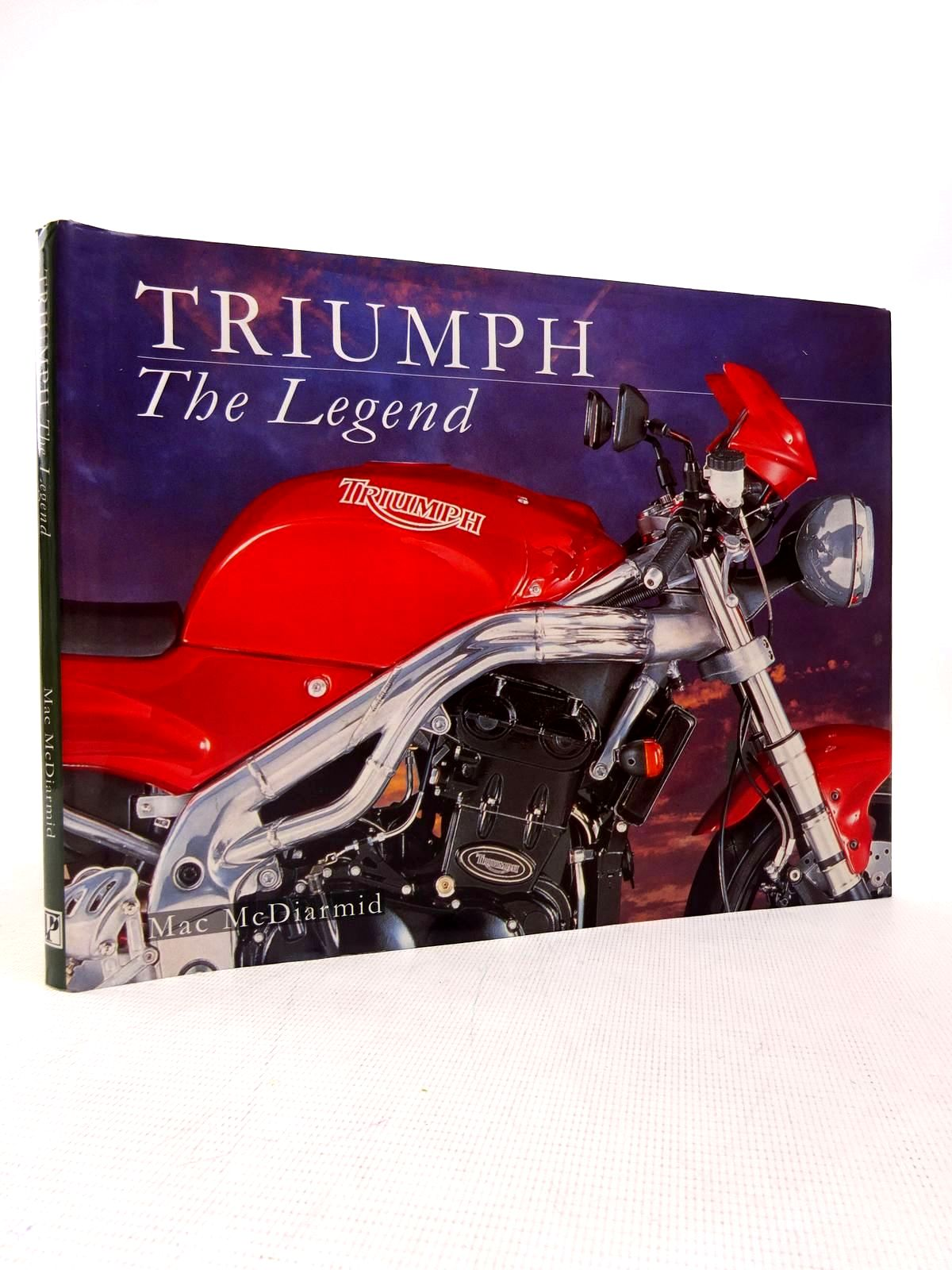 Photo of TRIUMPH THE LEGEND written by McDiarmid, Mac published by Parragon (STOCK CODE: 1816721)  for sale by Stella & Rose's Books
