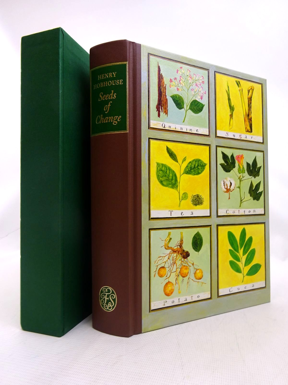 Photo of SEEDS OF CHANGE written by Hobhouse, Henry published by Folio Society (STOCK CODE: 1816731)  for sale by Stella & Rose's Books