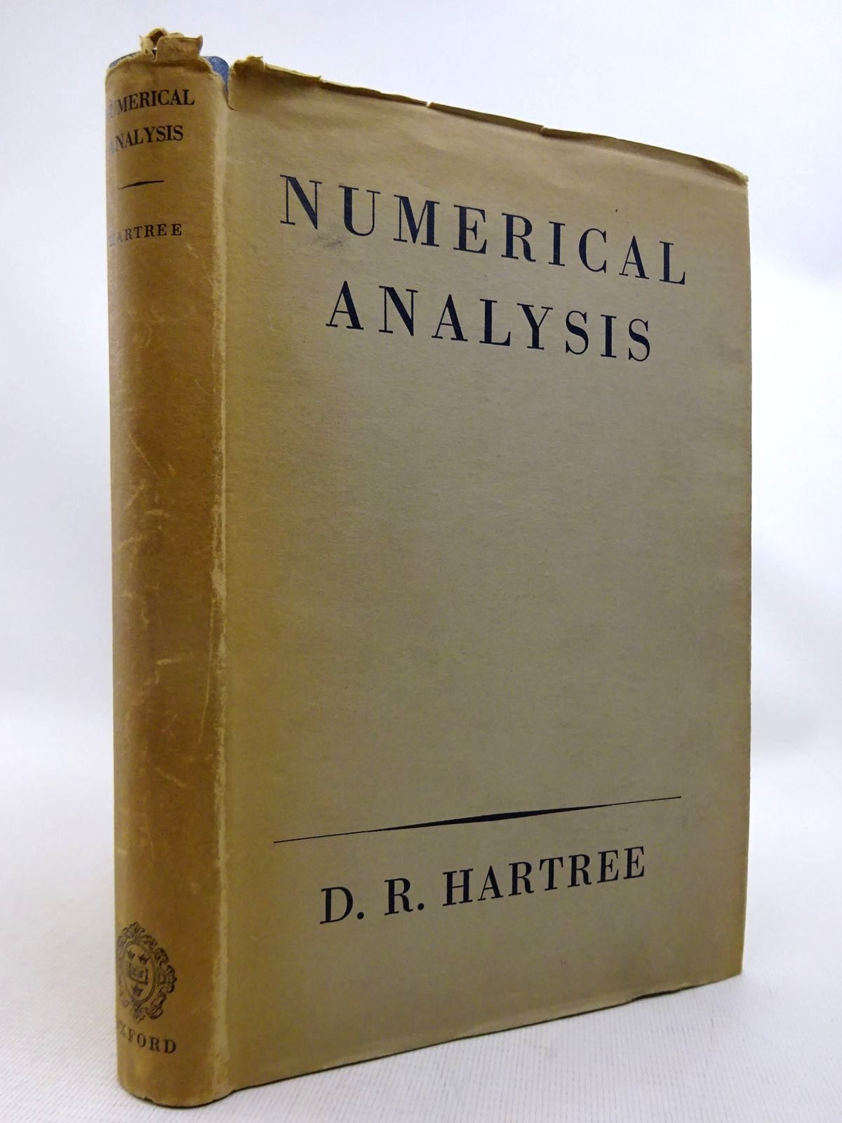 Photo of NUMERICAL ANALYSIS written by Hartree, Douglas R. published by Oxford at the Clarendon Press (STOCK CODE: 1816756)  for sale by Stella & Rose's Books