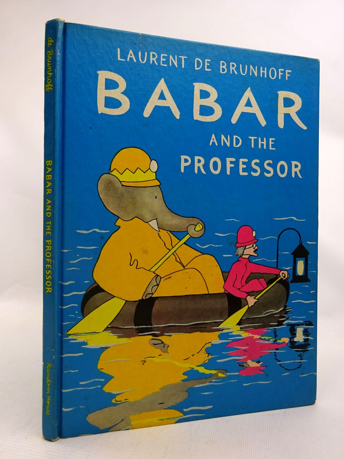 Photo of BABAR AND THE PROFESSOR written by De Brunhoff, Laurent published by Random House (STOCK CODE: 1816774)  for sale by Stella & Rose's Books