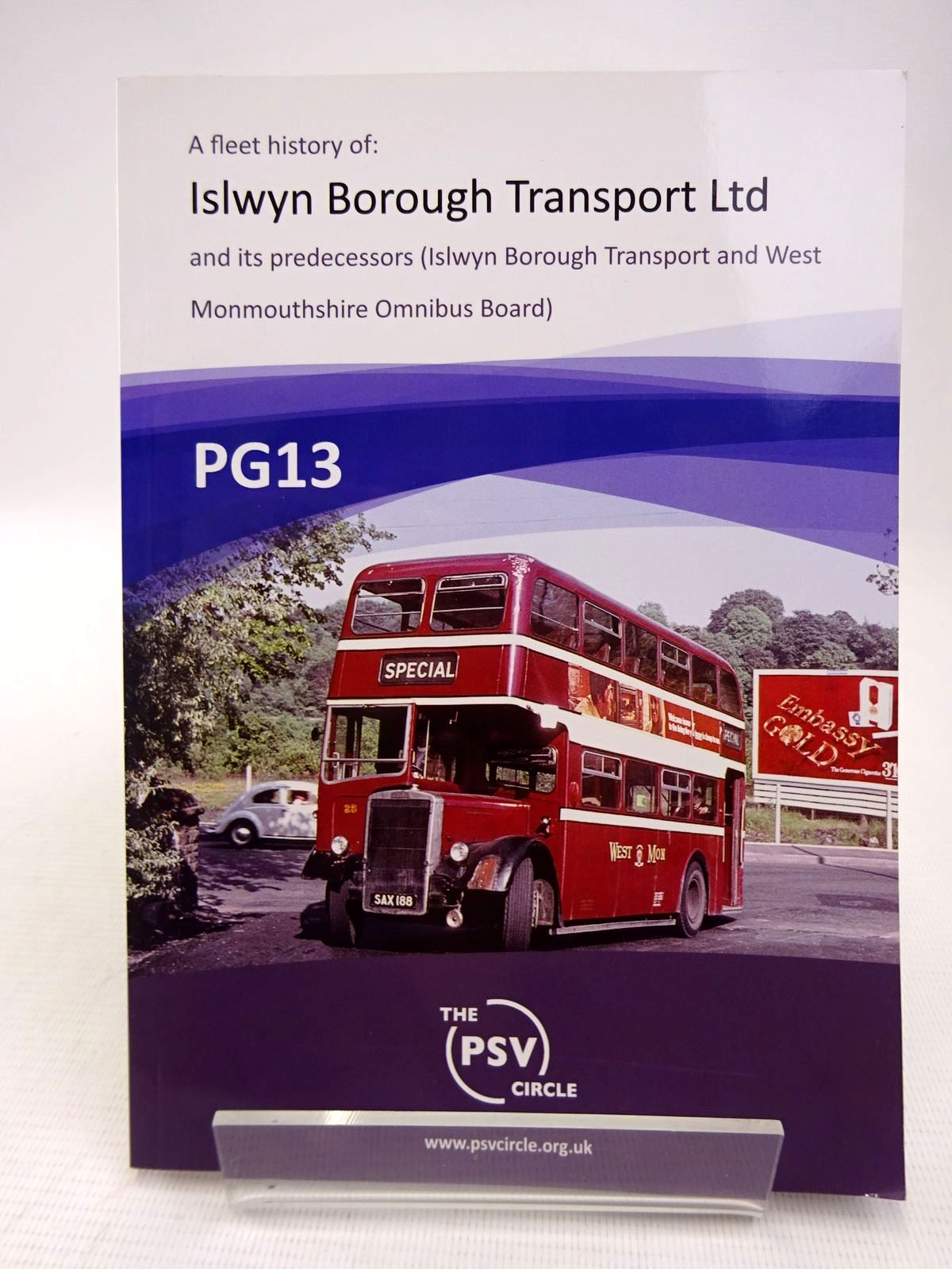 Photo of PG13: FLEET HISTORY OF ISLWYN BOROUGH TRANSPORT LTD AND ITS PREDECESSORS- Stock Number: 1816797