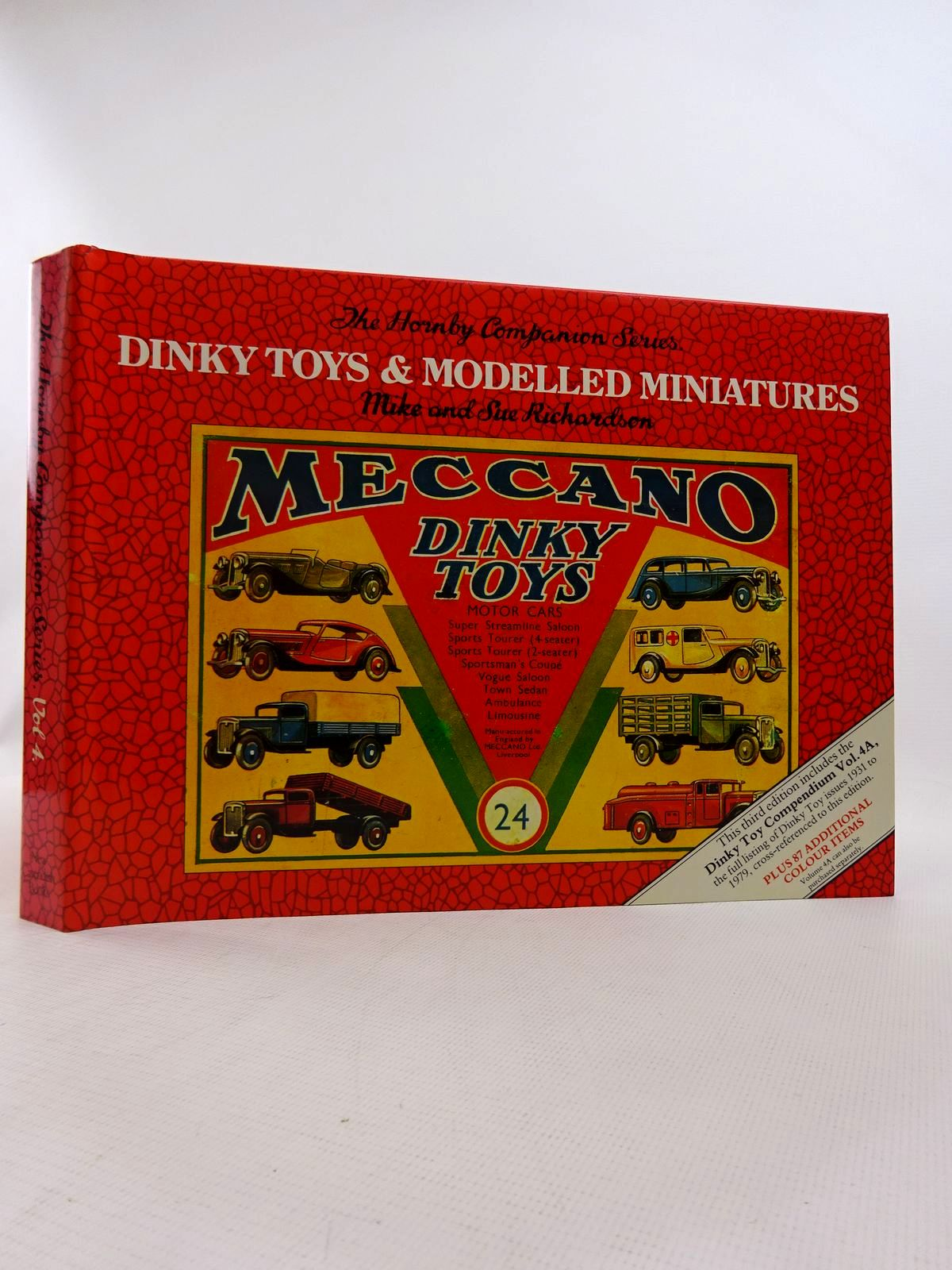 Photo of DINKY TOYS AND MODELLED MINIATURES written by Richardson, Mike<br />Richardson, Sue published by New Cavendish Books (STOCK CODE: 1816867)  for sale by Stella & Rose's Books