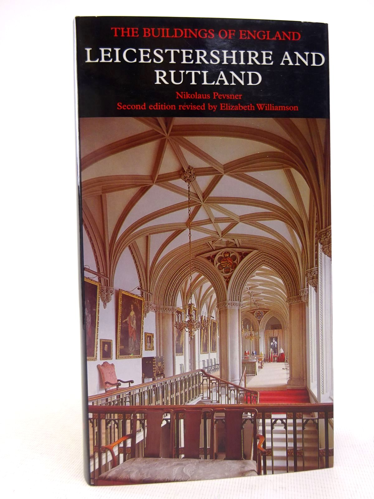 Photo of LEICESTERSHIRE AND RUTLAND (BUILDINGS OF ENGLAND) written by Pevsner, Nikolaus Williamson, Elizabeth Brandwood, Geoffrey K. published by Yale University Press (STOCK CODE: 1816897)  for sale by Stella & Rose's Books