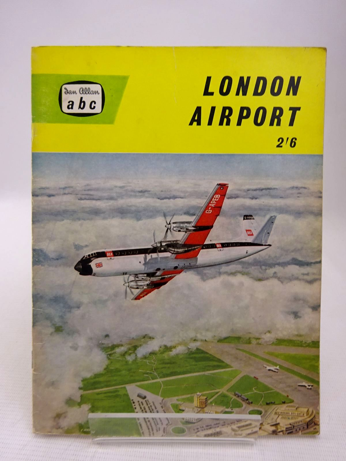 Photo of LONDON AIRPORT written by Allward, Maurice McLeavy, Roy published by Ian Allan (STOCK CODE: 1816912)  for sale by Stella & Rose's Books
