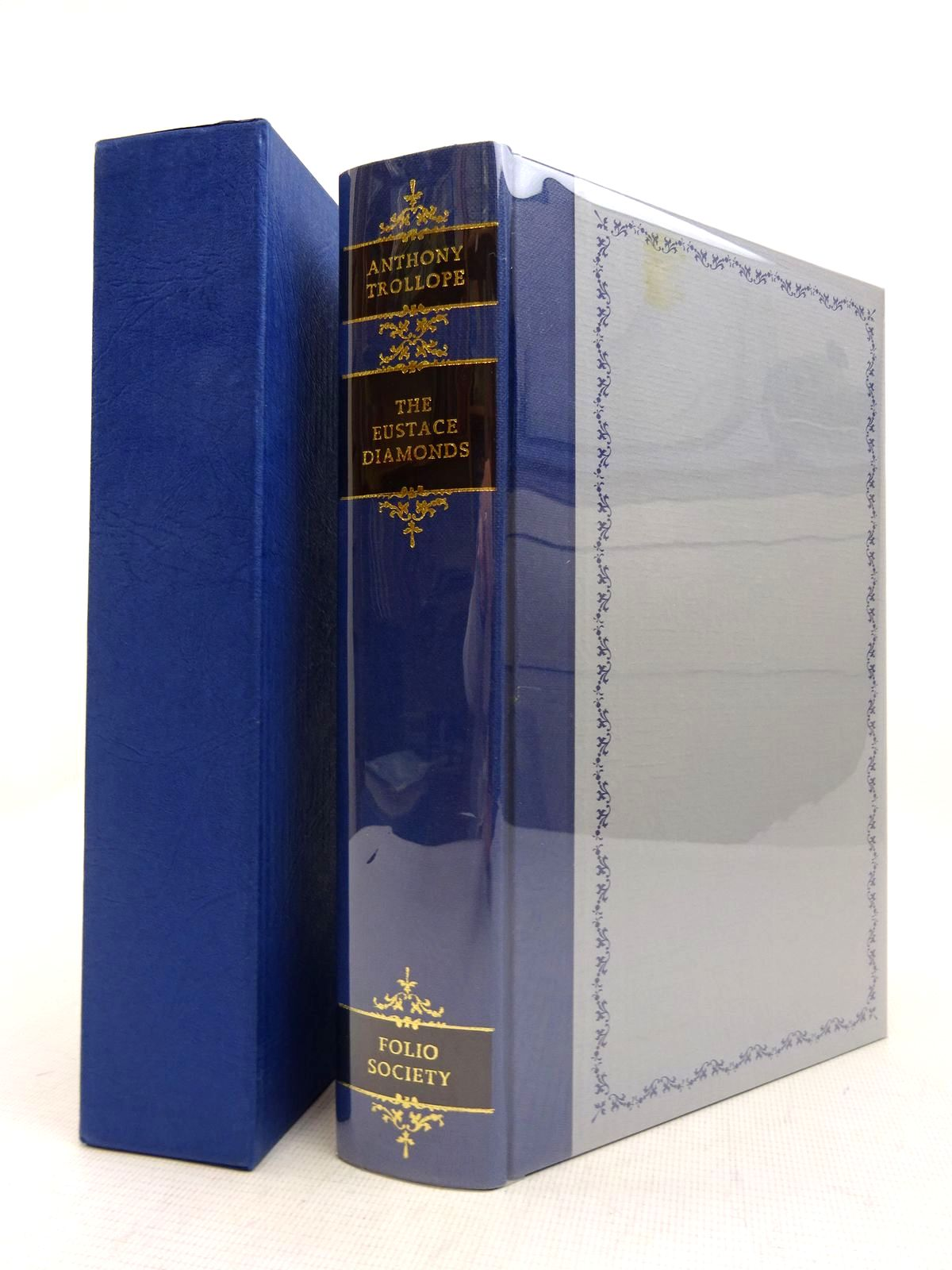 Photo of THE EUSTACE DIAMONDS written by Trollope, Anthony illustrated by Thomas, Llewellyn published by Folio Society (STOCK CODE: 1816985)  for sale by Stella & Rose's Books