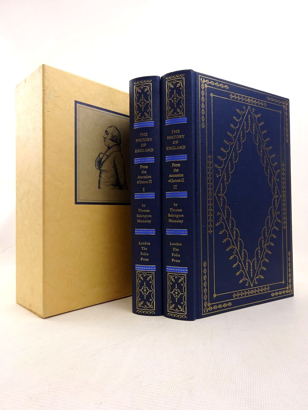 Photo of THE HISTORY OF ENGLAND FROM THE ACCESSION OF JAMES II (2 VOLUMES) written by Macaulay, Thomas Babington<br />Rowland, Peter published by Folio Press (STOCK CODE: 1816992)  for sale by Stella & Rose's Books