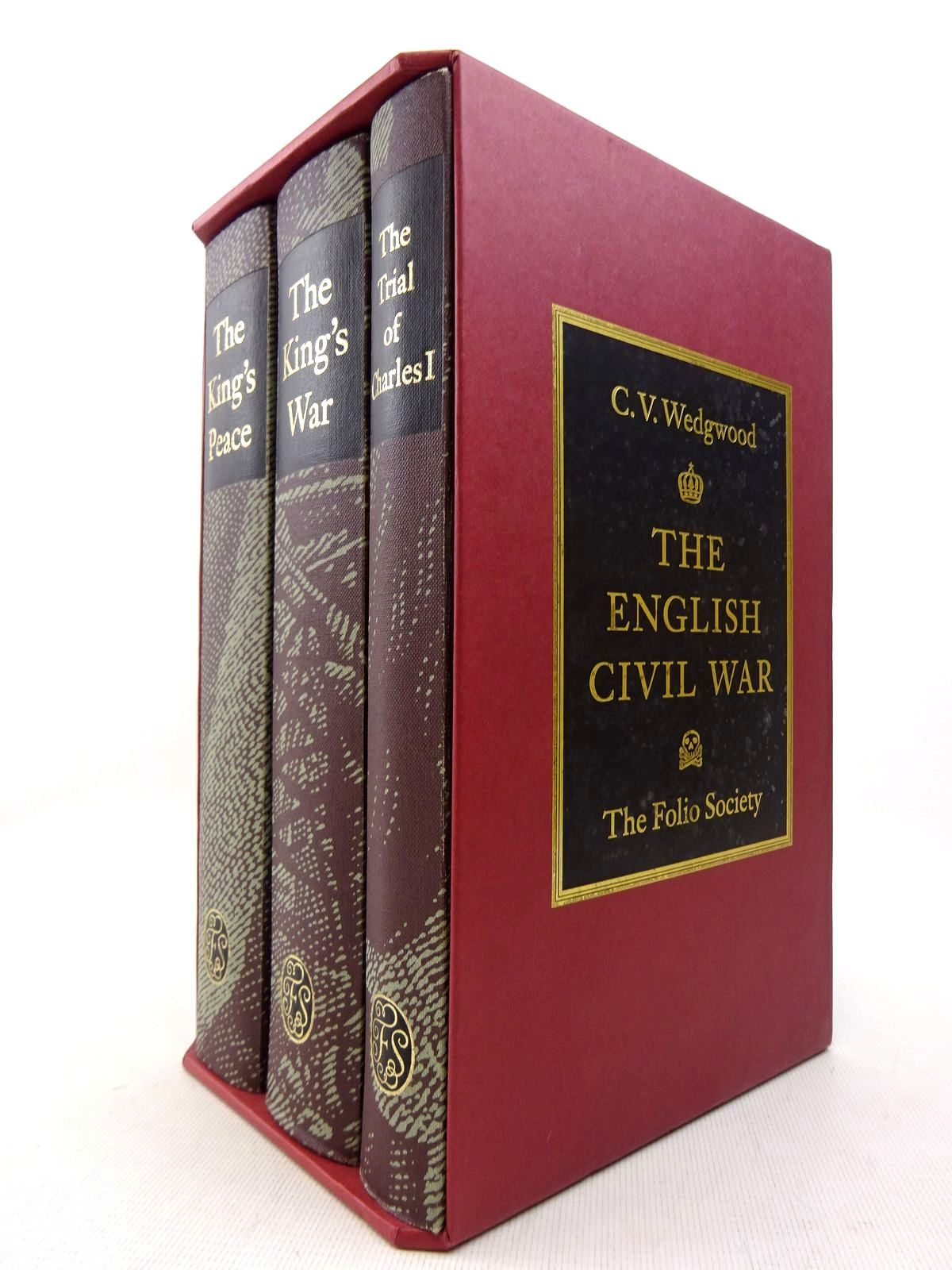 Photo of THE ENGLISH CIVIL WAR (3 VOLUMES) written by Wedgwood, C.V. published by Folio Society (STOCK CODE: 1816994)  for sale by Stella & Rose's Books
