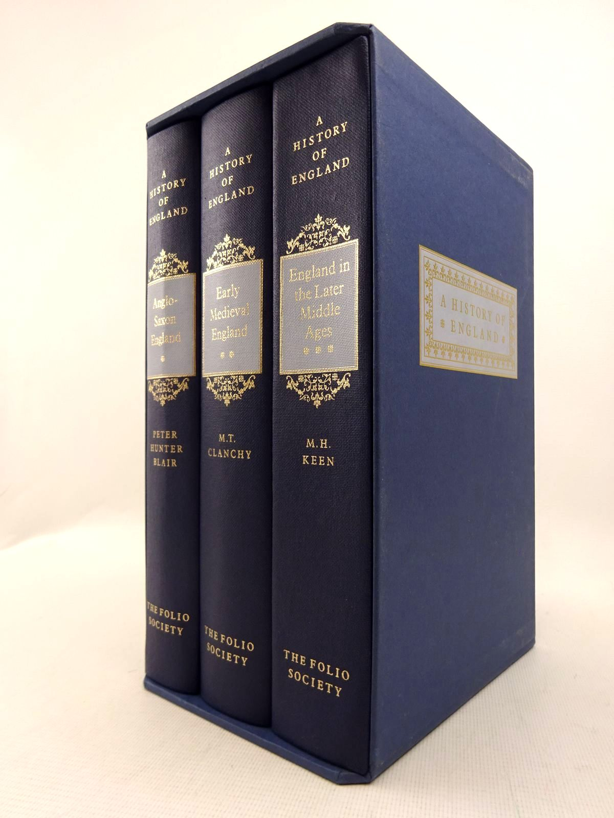 Photo of A HISTORY OF ENGLAND (3 VOLUMES) written by Keen, M.H. Blair, Peter Hunter Clanchy, M.T. published by Folio Society (STOCK CODE: 1816995)  for sale by Stella & Rose's Books